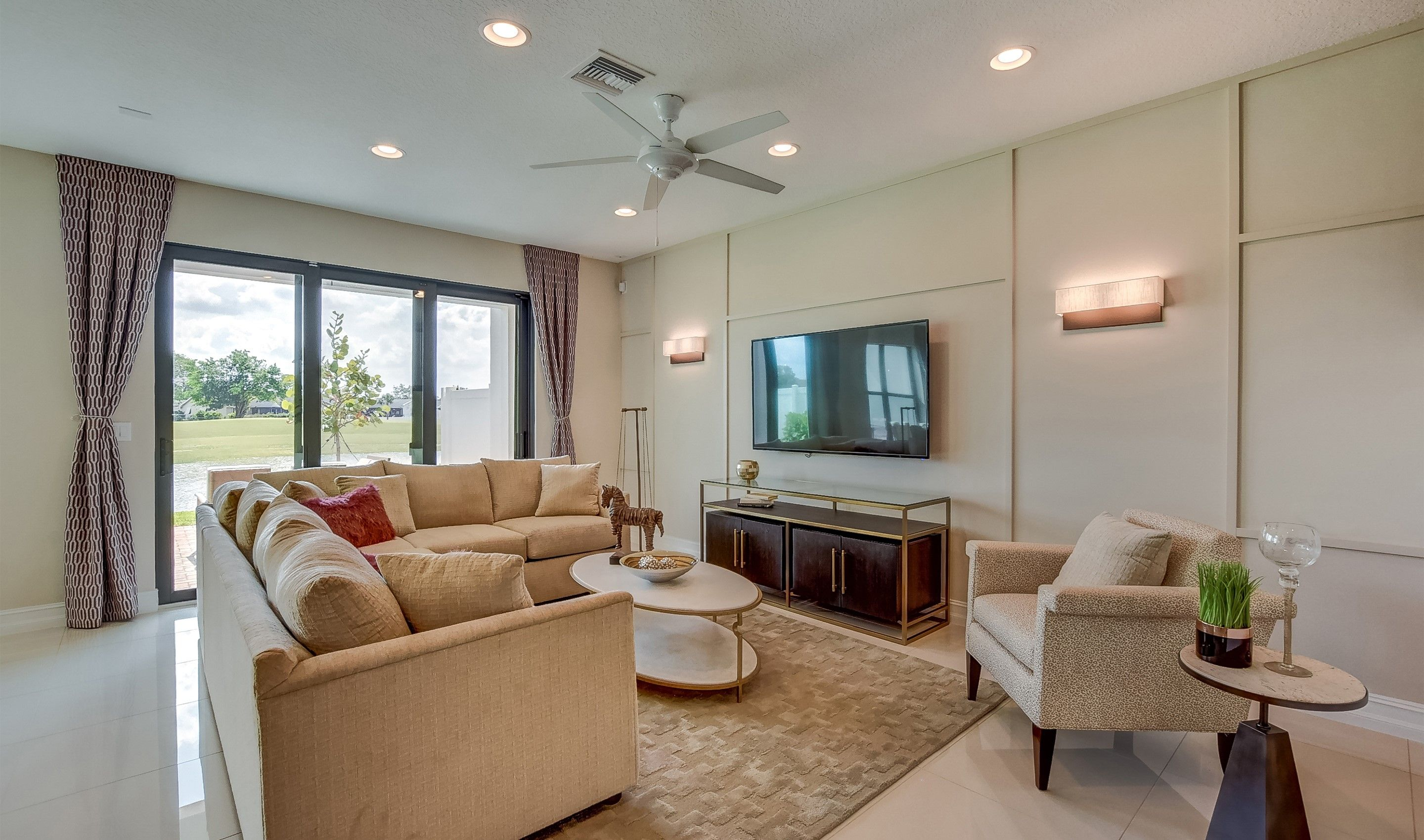 Living Area featured in the Bonaire II By K. Hovnanian® Homes in Palm Beach County, FL