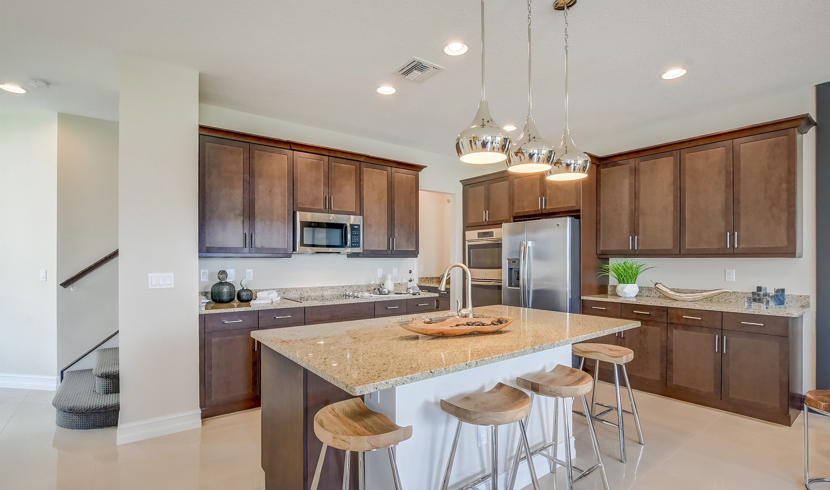 Kitchen featured in the Fullerton II By K. Hovnanian® Homes in Palm Beach County, FL