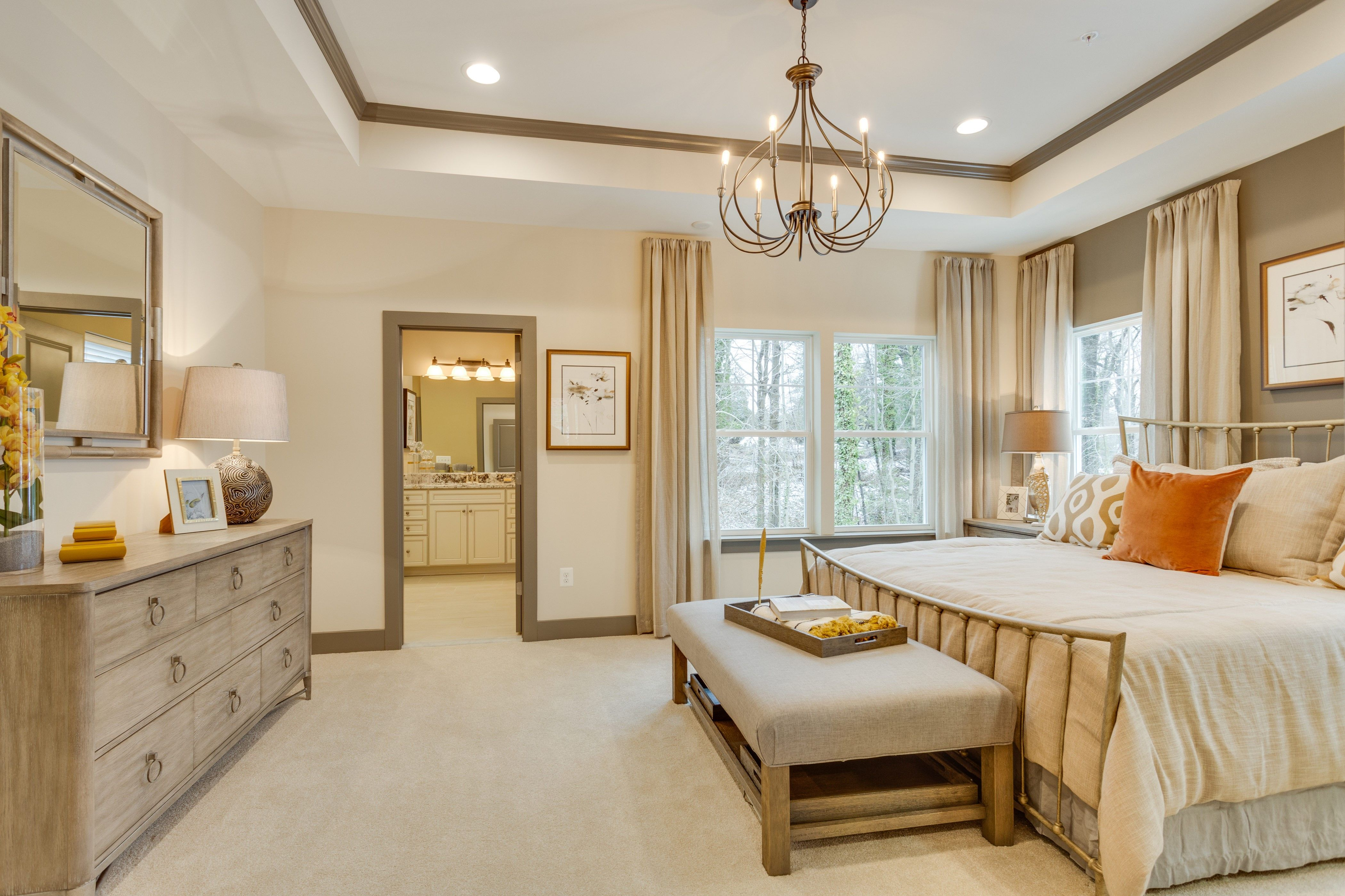 Bedroom featured in the Bennington  - 24' Wide By K. Hovnanian® Homes in Baltimore, MD