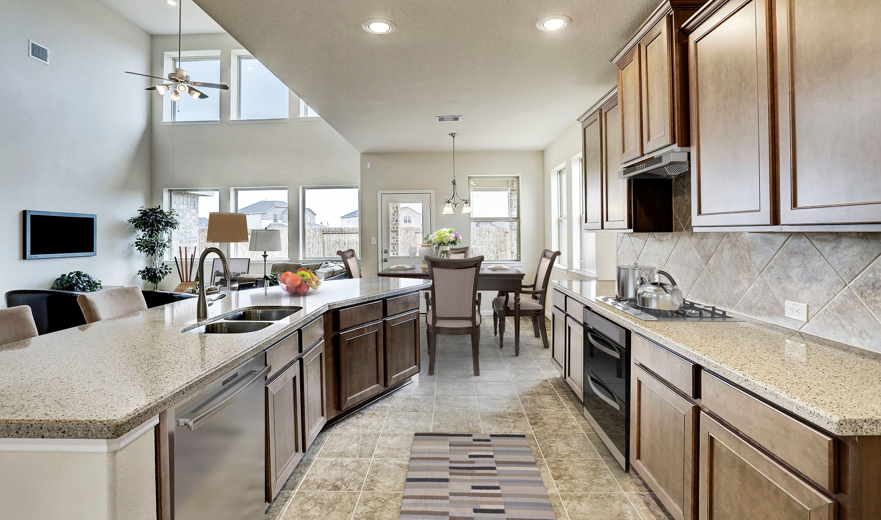 Kitchen-in-Easton II-at-The Villages at Champion's Gate-in-Mont Belvieu