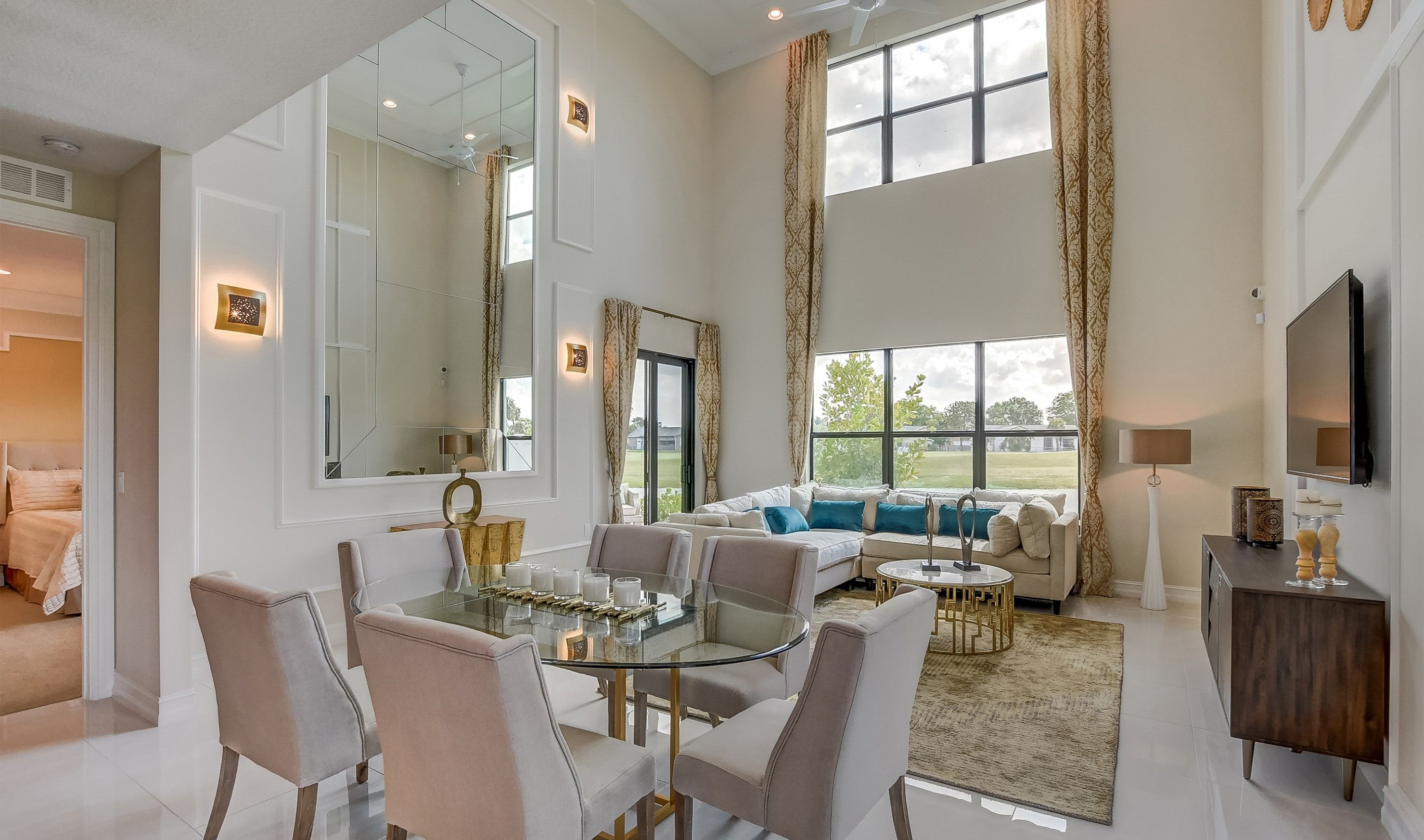 Living Area featured in the Callista II By K. Hovnanian® Homes in Palm Beach County, FL