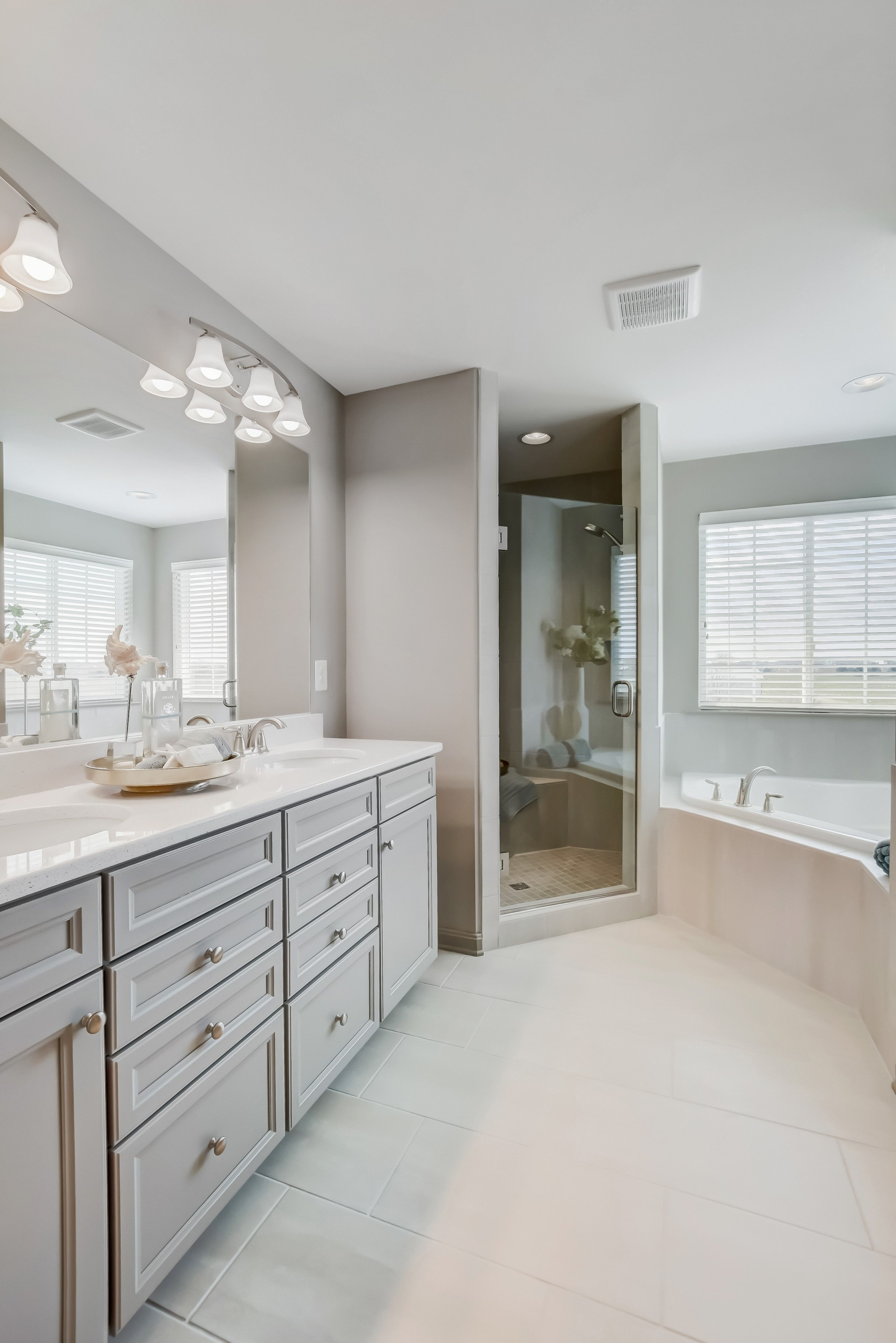 Bathroom featured in the Delaware II By K. Hovnanian® Homes in Washington, VA