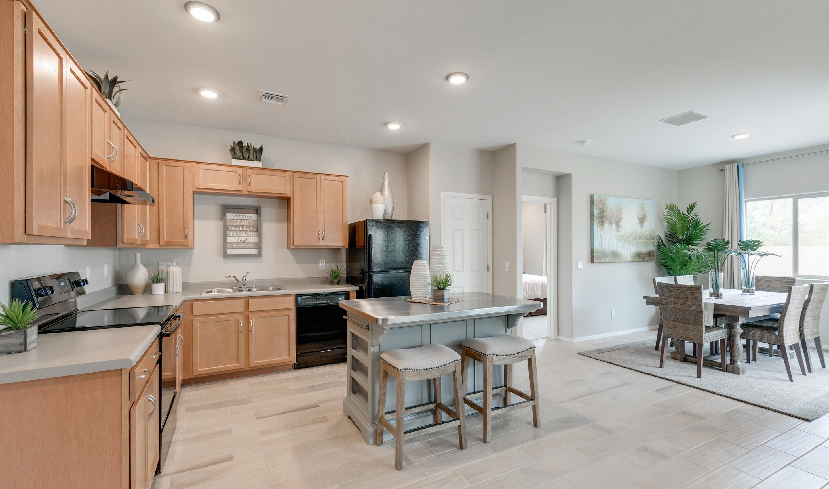 Kitchen-in-Bliss-at-Aspire at Villago-in-Casa Grande