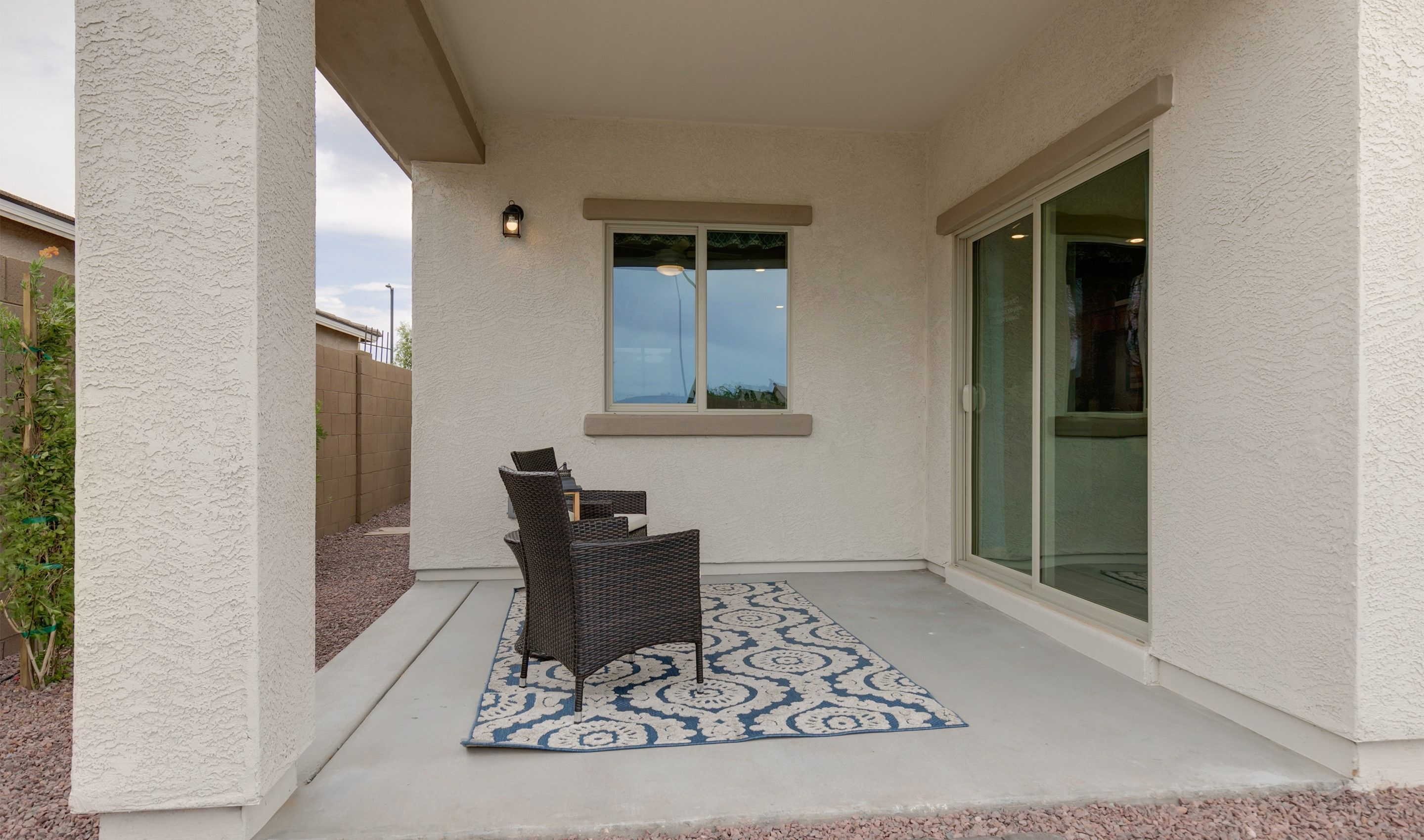 Exterior featured in the Bliss By K. Hovnanian® Homes in Phoenix-Mesa, AZ