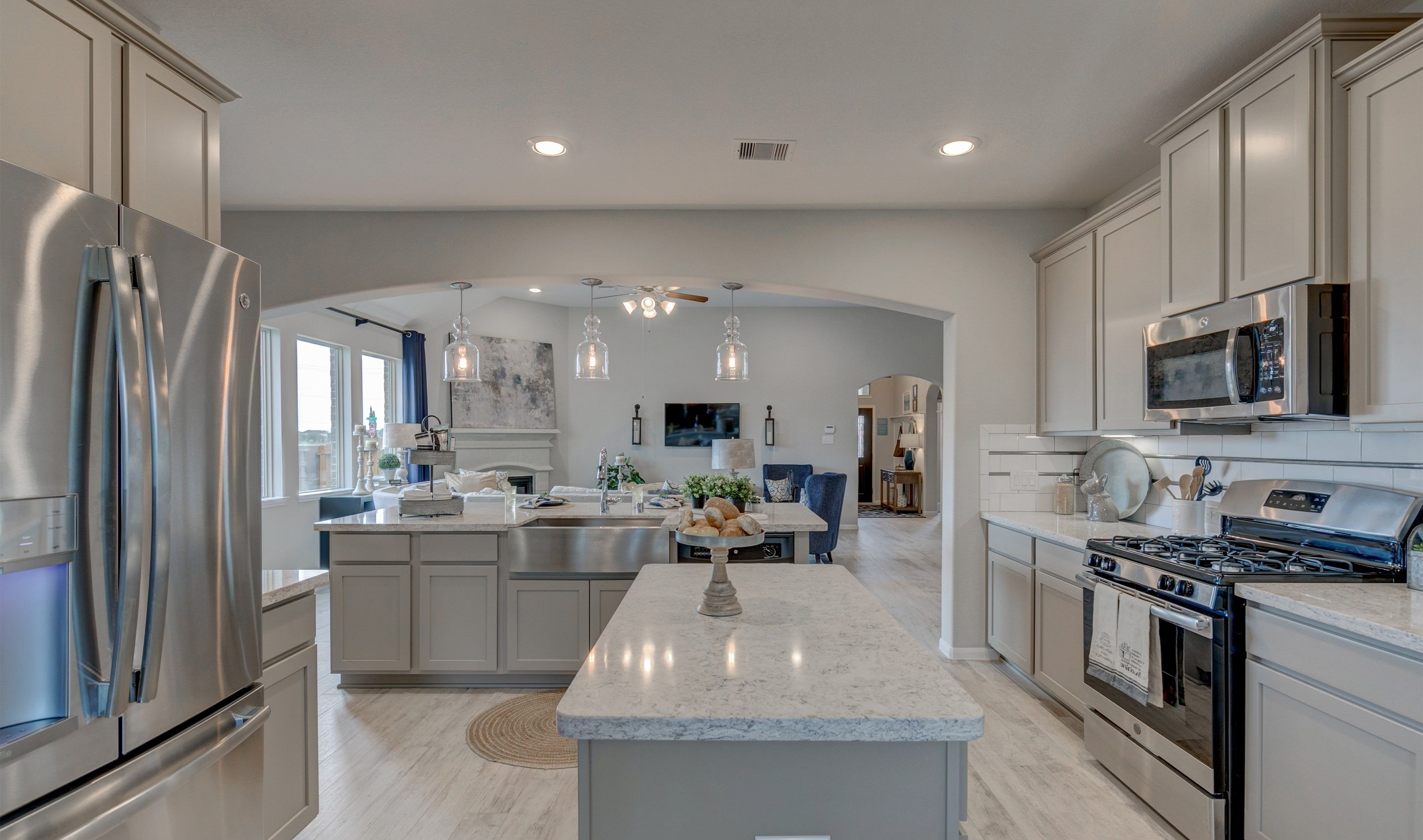 Kitchen-in-Juniper II-at-Enclave at NorthPointe - 50' Homesites-in-Cypress