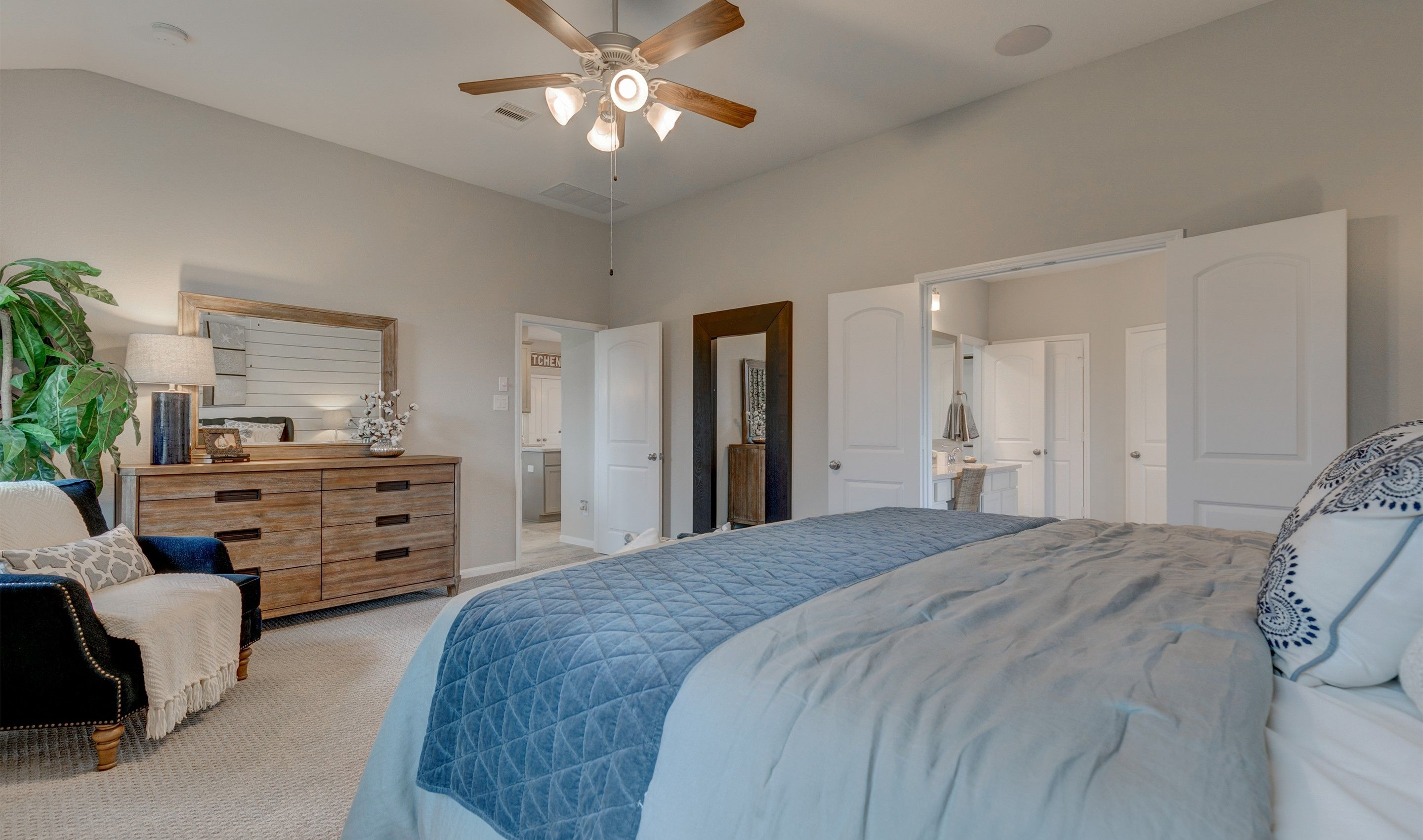 Bedroom featured in the Juniper II By K. Hovnanian® Homes in Houston, TX