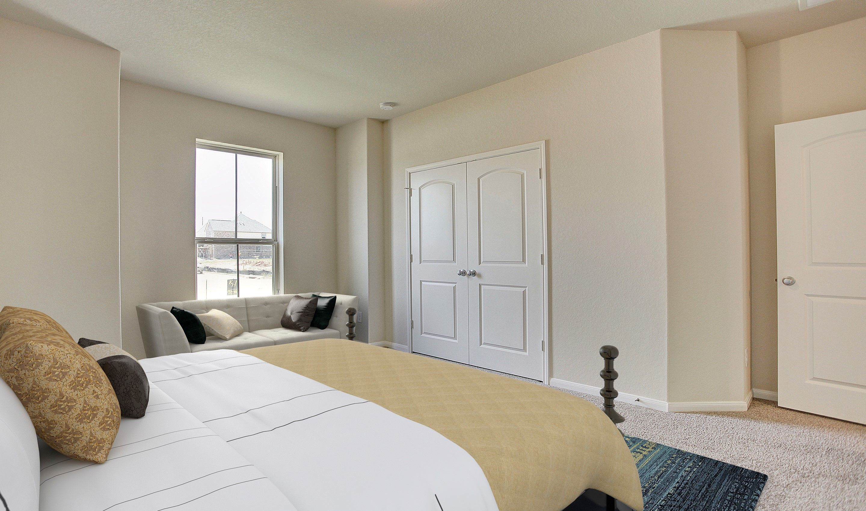 Bedroom featured in the Willard II By K. Hovnanian® Homes in Houston, TX