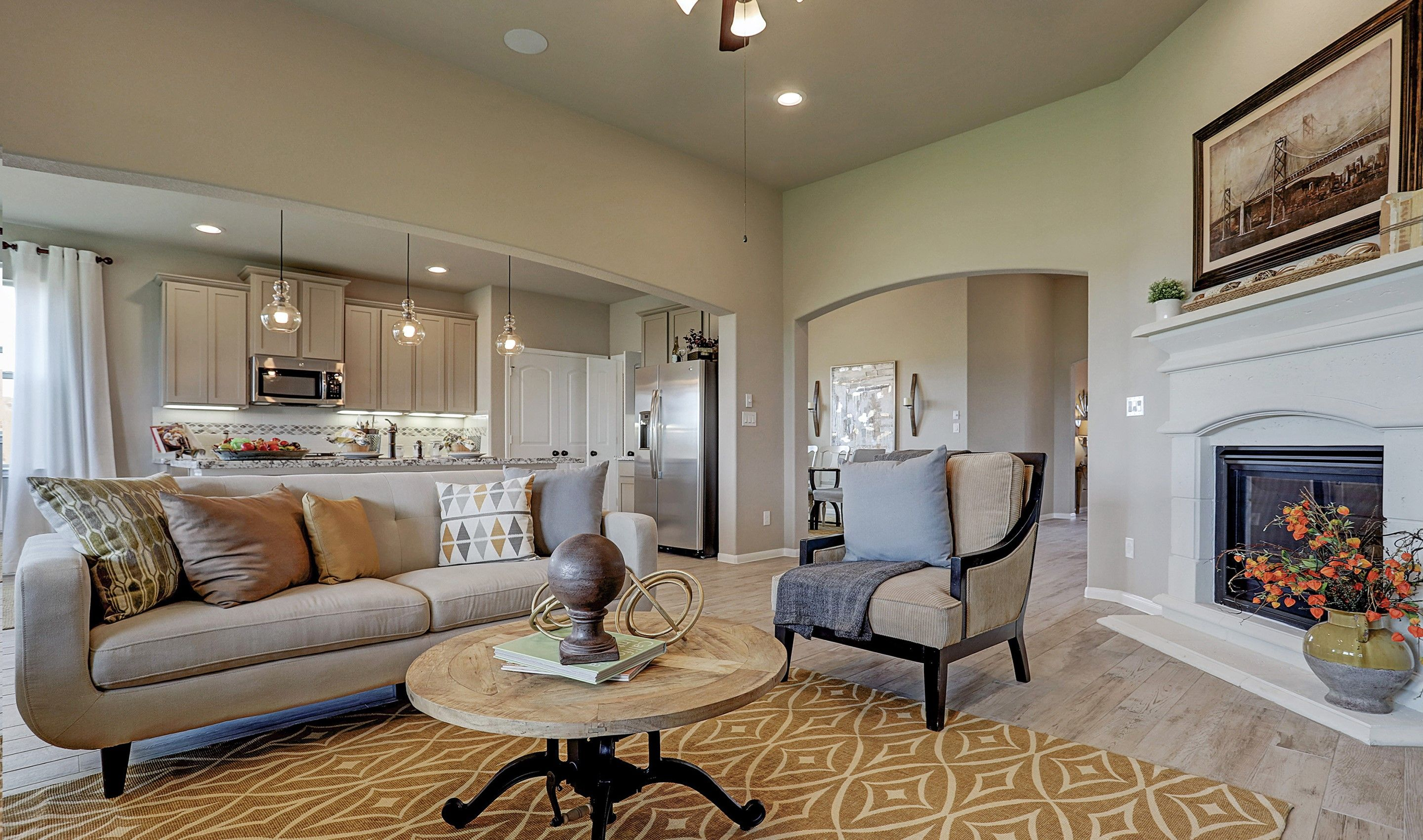 Living Area featured in the Blakemore II By K. Hovnanian® Homes in Brazoria, TX