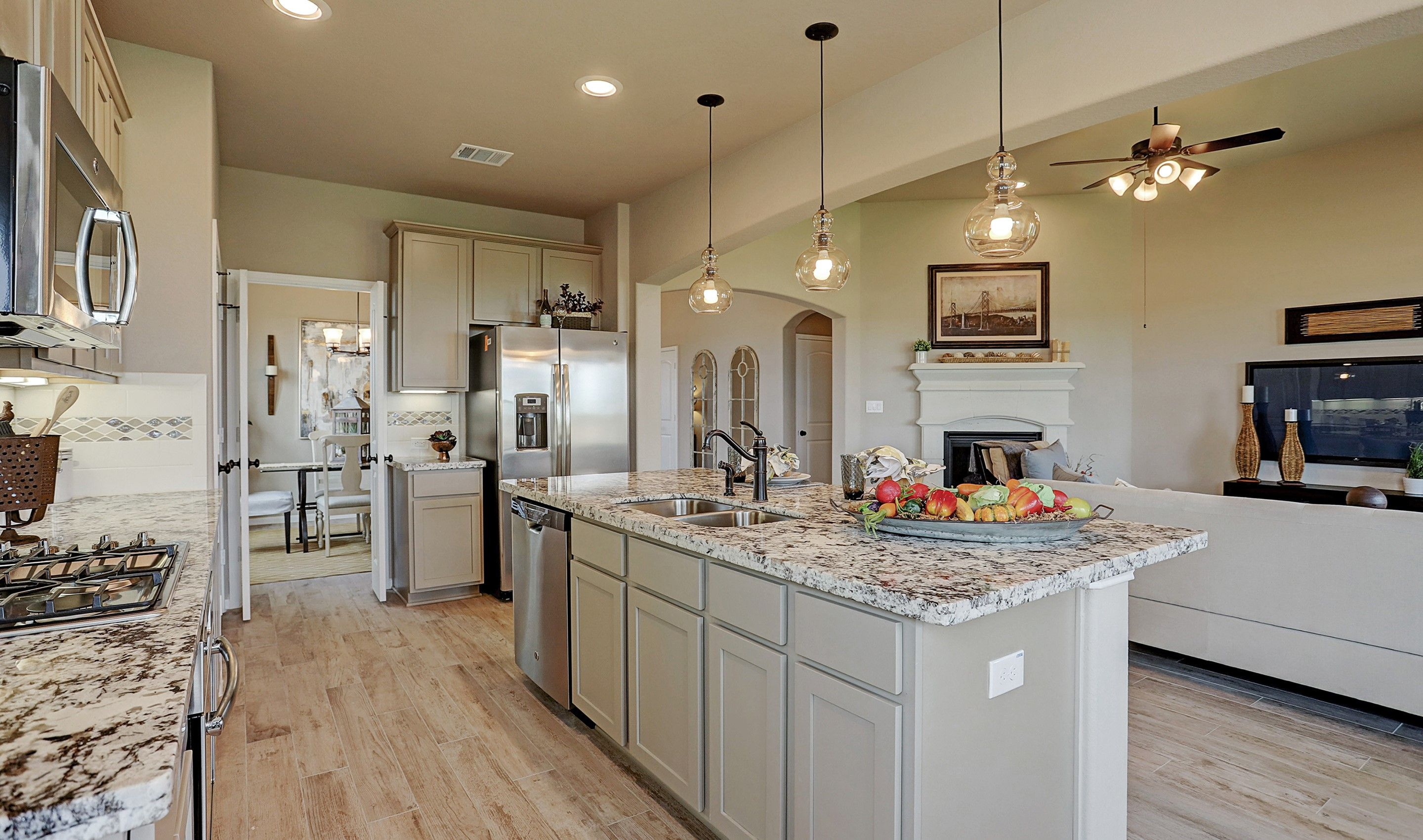 Kitchen featured in the Blakemore II By K. Hovnanian® Homes in Brazoria, TX