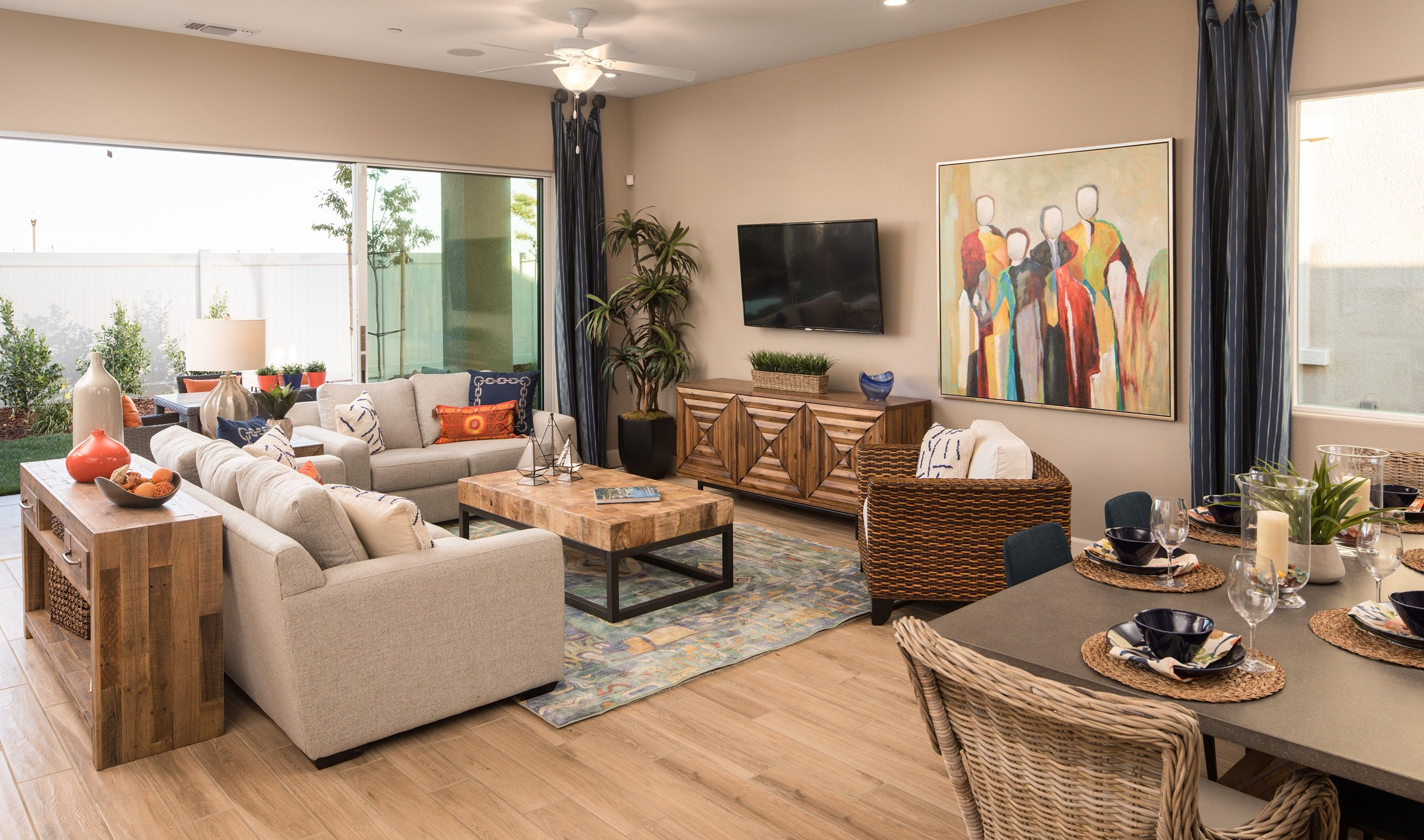 Living Area featured in the Broadleaf By K. Hovnanian® Homes in Stockton-Lodi, CA