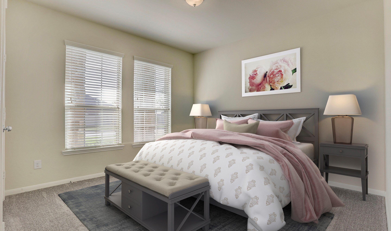 Bedroom-in-Juniper II-at-Woodshore-in-Clute