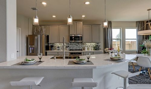 Kitchen-in-Easton II-at-River Farms-in-Baytown