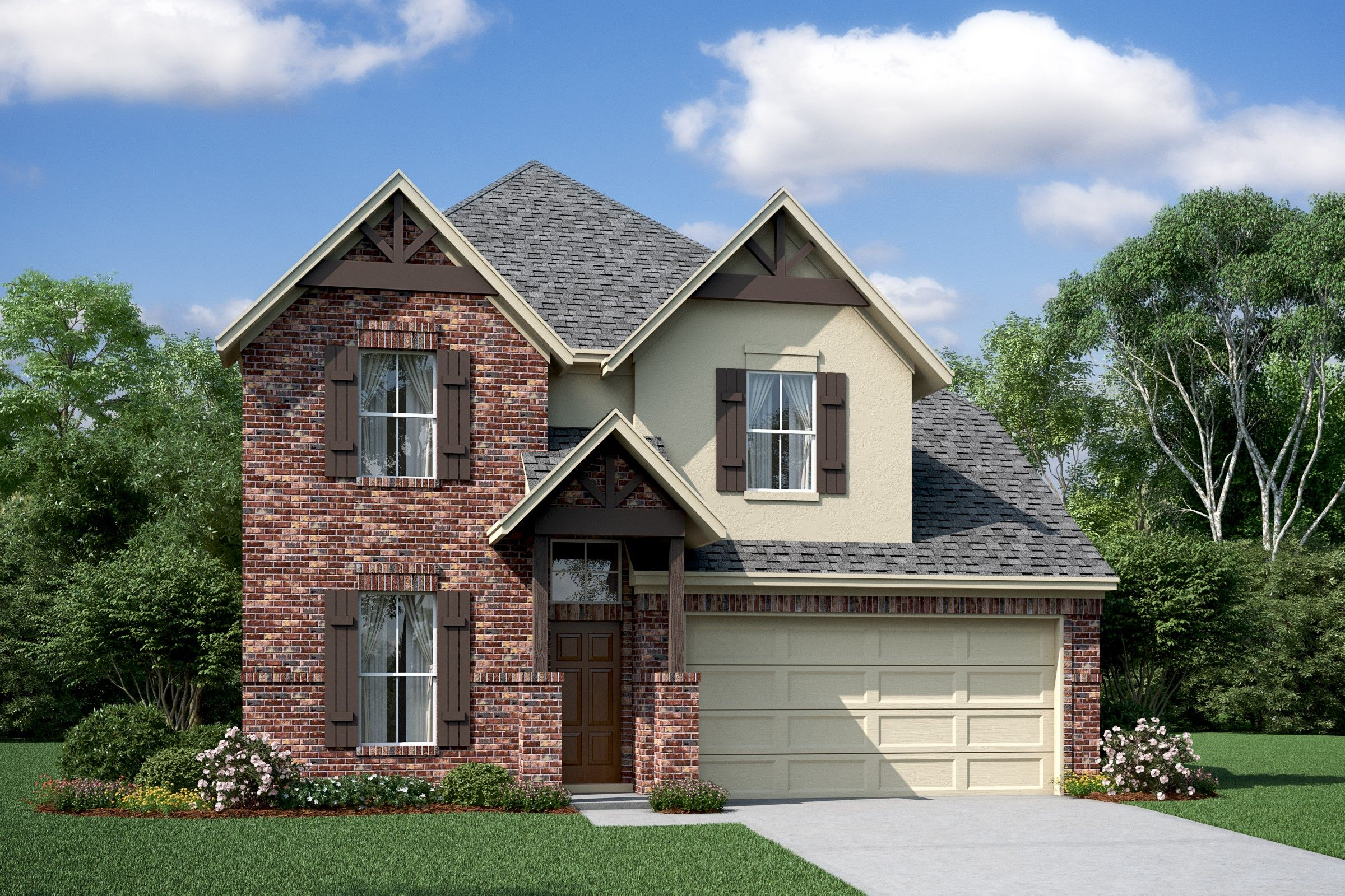 Exterior featured in the Elmore By K. Hovnanian® Homes in Brazoria, TX