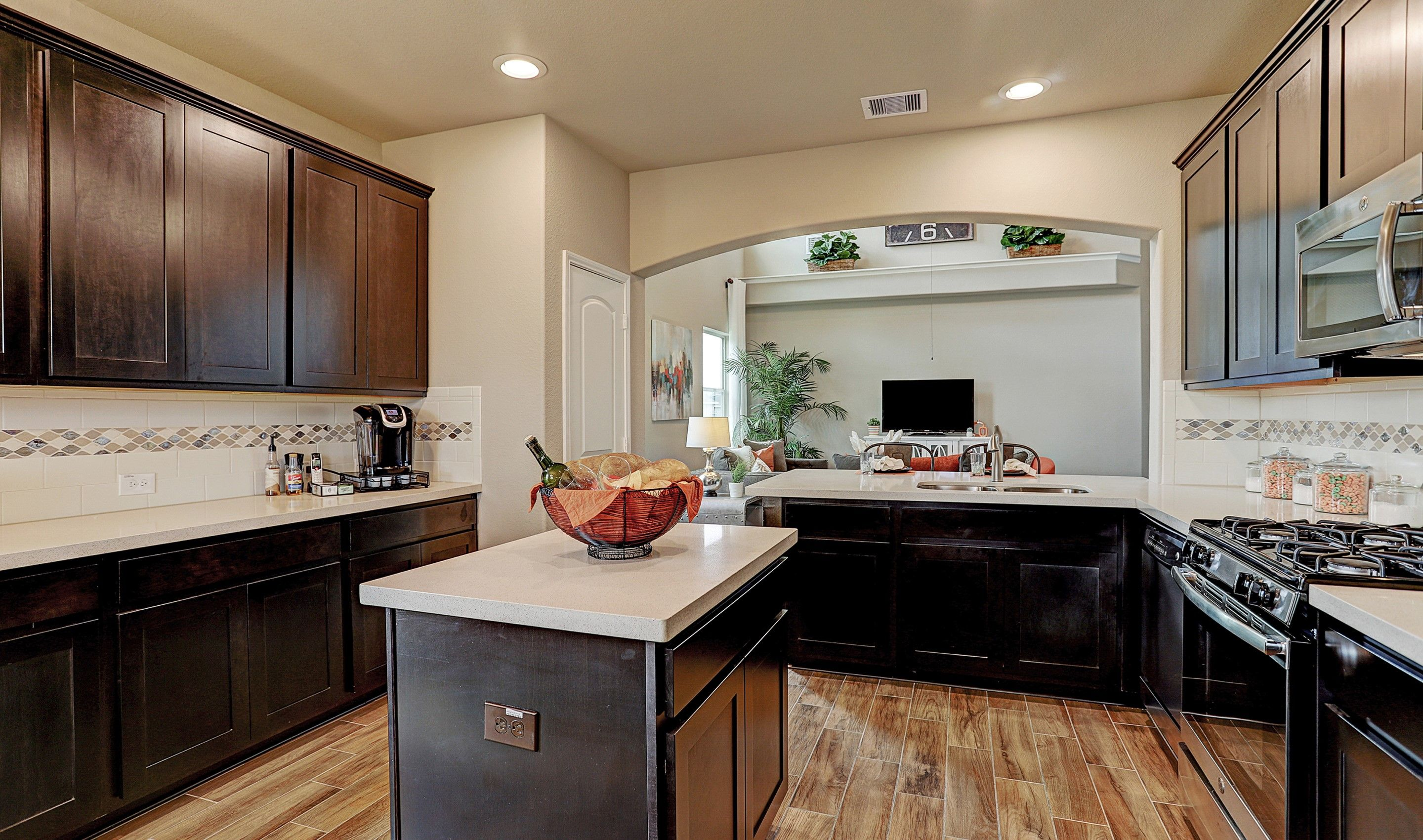 Kitchen featured in the Darlington II By K. Hovnanian® Homes in Houston, TX