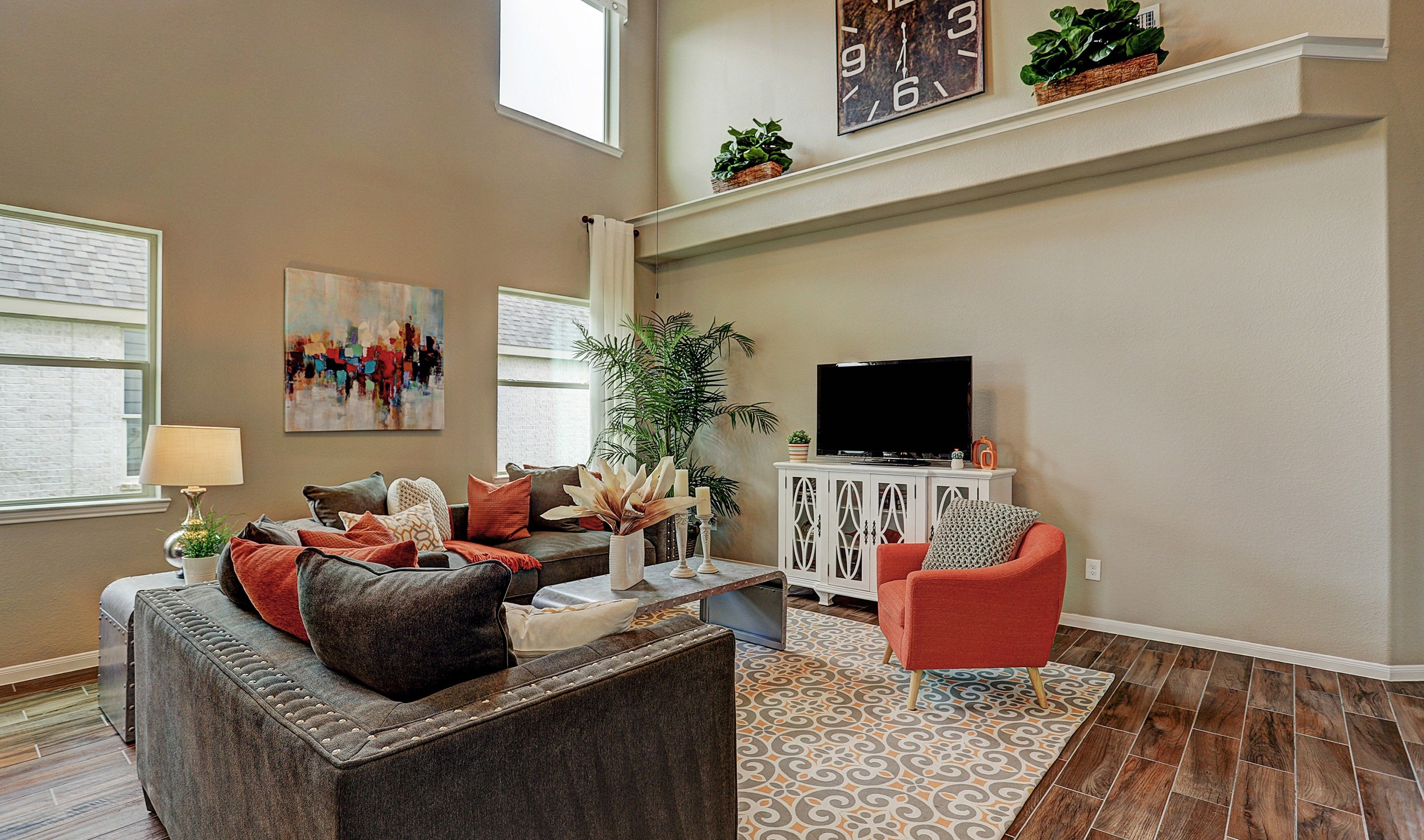 Living Area featured in the Darlington II By K. Hovnanian® Homes in Houston, TX