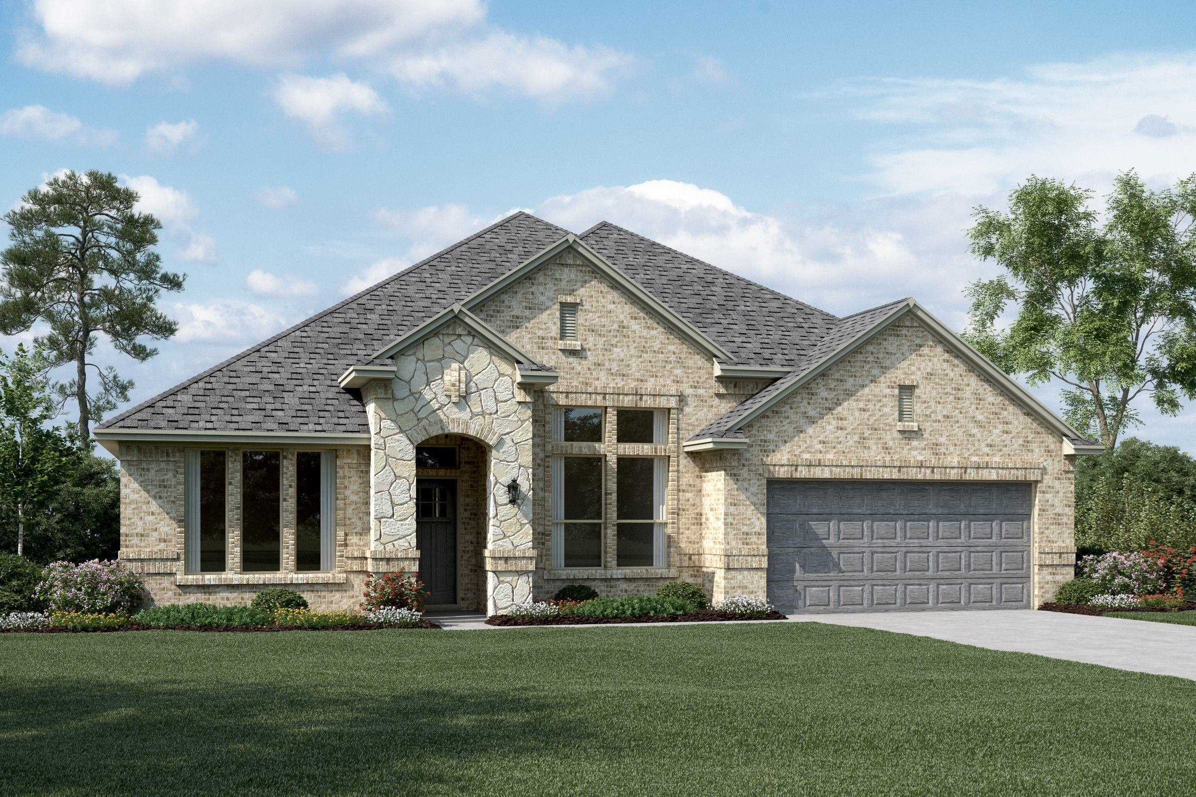 Exterior featured in the Bridgeport II By K. Hovnanian® Homes in Dallas, TX