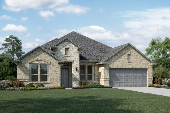 Exterior:Sterling II - C - Optional stone