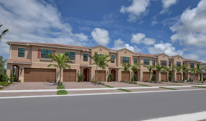 arabella fullerton enclave exterior new homes in boca raton