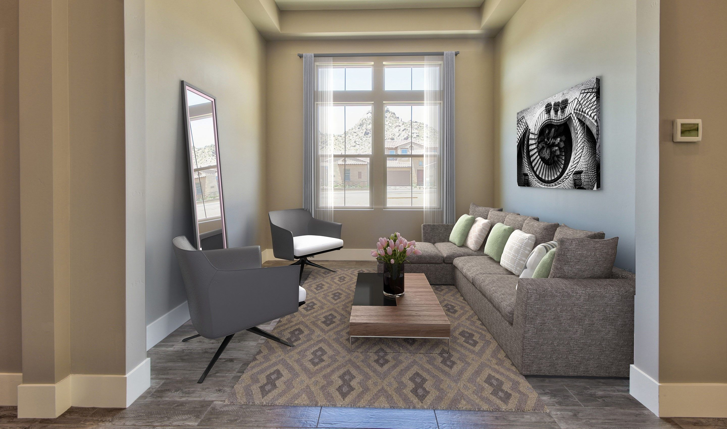 Greatroom-and-Dining-in-Capstone-at-Summit II at Silverstone-in-Scottsdale