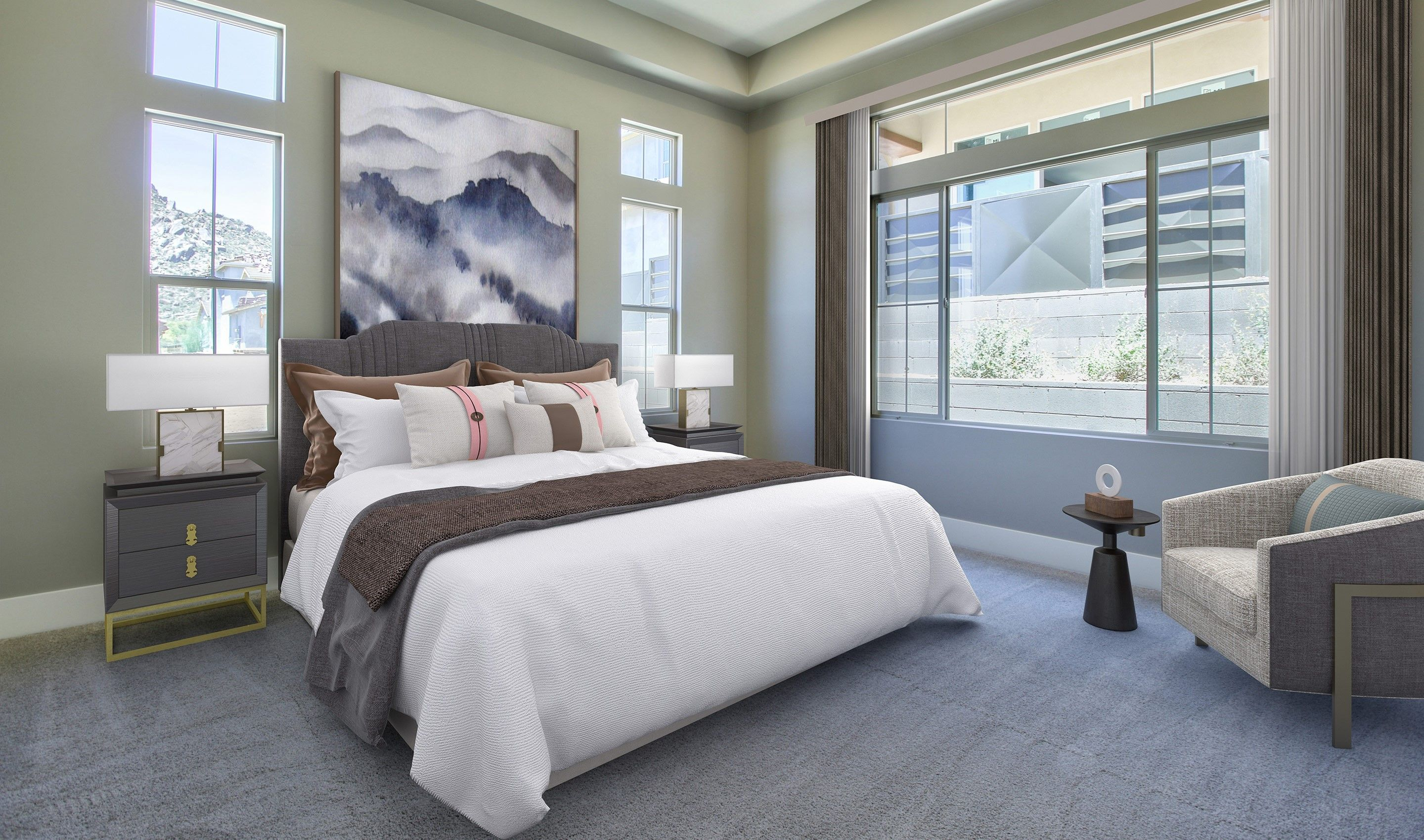 Bedroom-in-Capstone-at-Summit II at Silverstone-in-Scottsdale