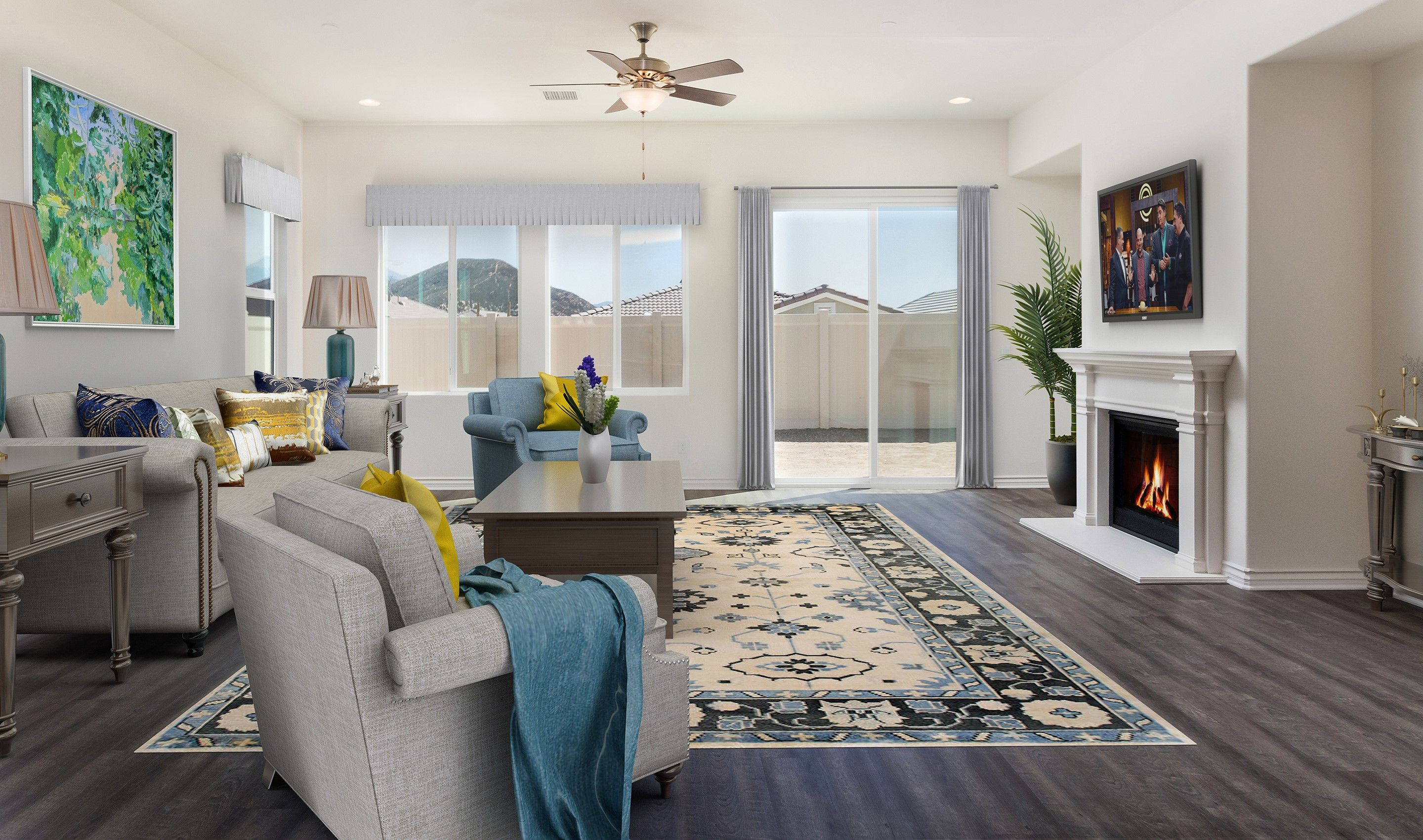 Greatroom-and-Dining-in-Sunridge-at-K. Hovnanian's® Four Seasons at Beaumont-in-Beaumont