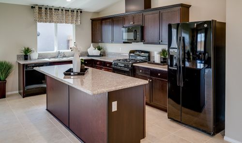 Kitchen-in-Luna-at-Aspire at Union Village-in-Bakersfield