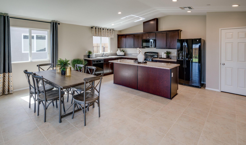 Kitchen-in-Luna-at-Aspire at Union Village-in-Bakersfield