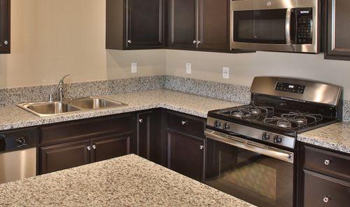 Kitchen-in-Sierra-at-Aspire at Bellevue Ranch II-in-Los Banos