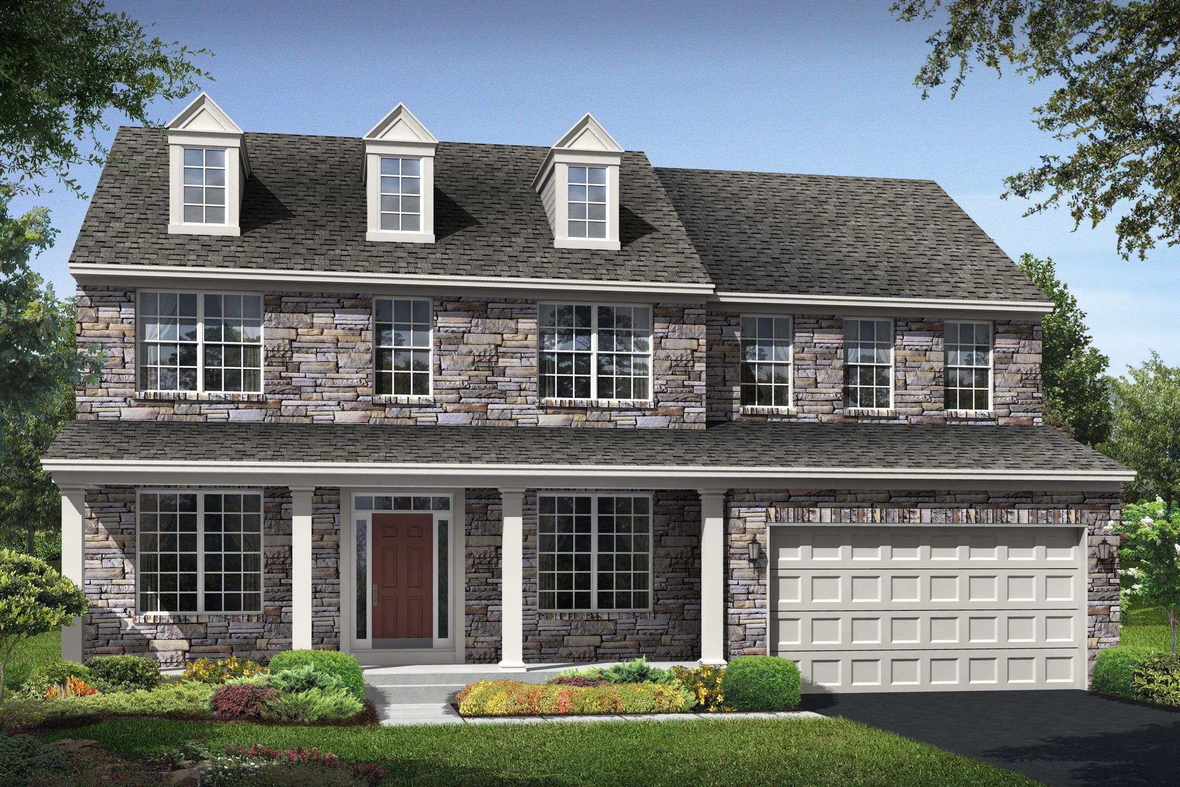 Delaware Plan at Cardinal View at Eagles Pointe in ...