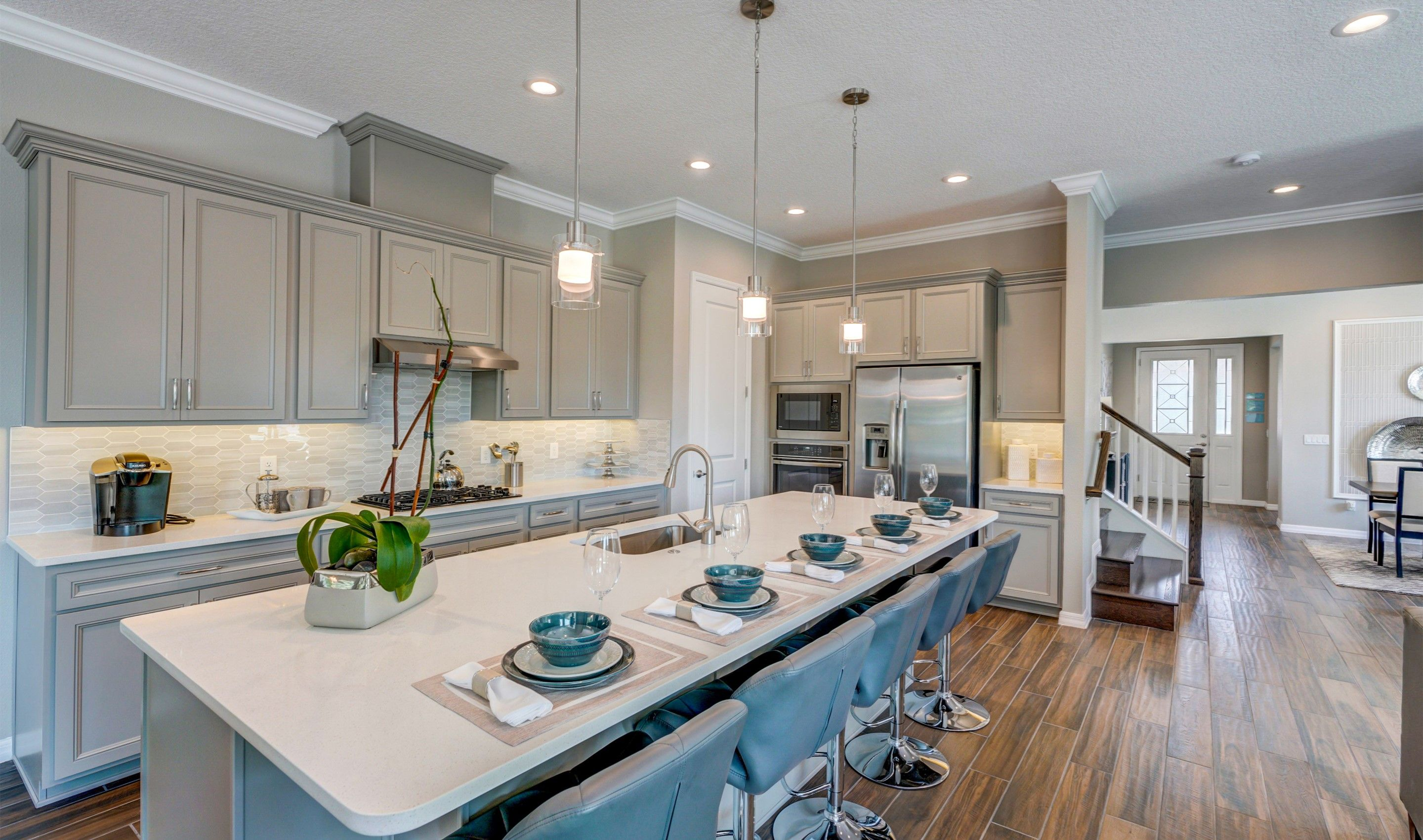 Kitchen featured in the Michelson By K. Hovnanian® Homes in Orlando, FL