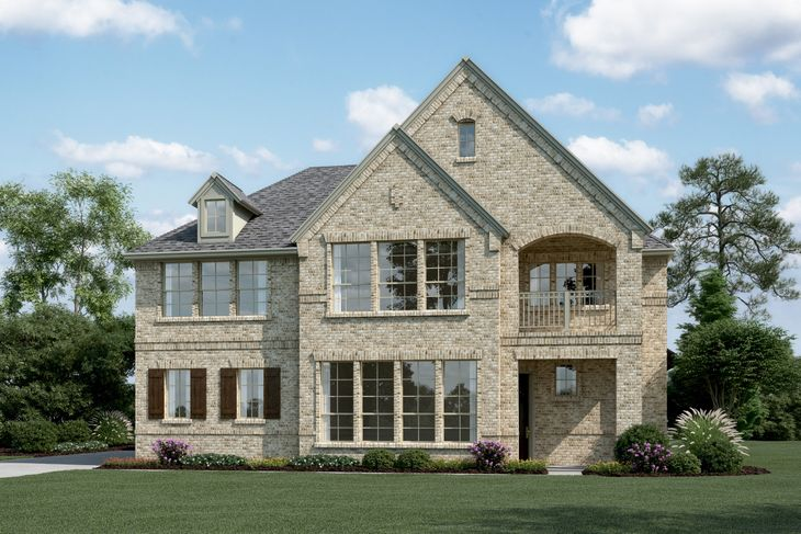 Exterior:Riverchase III - J - With stone