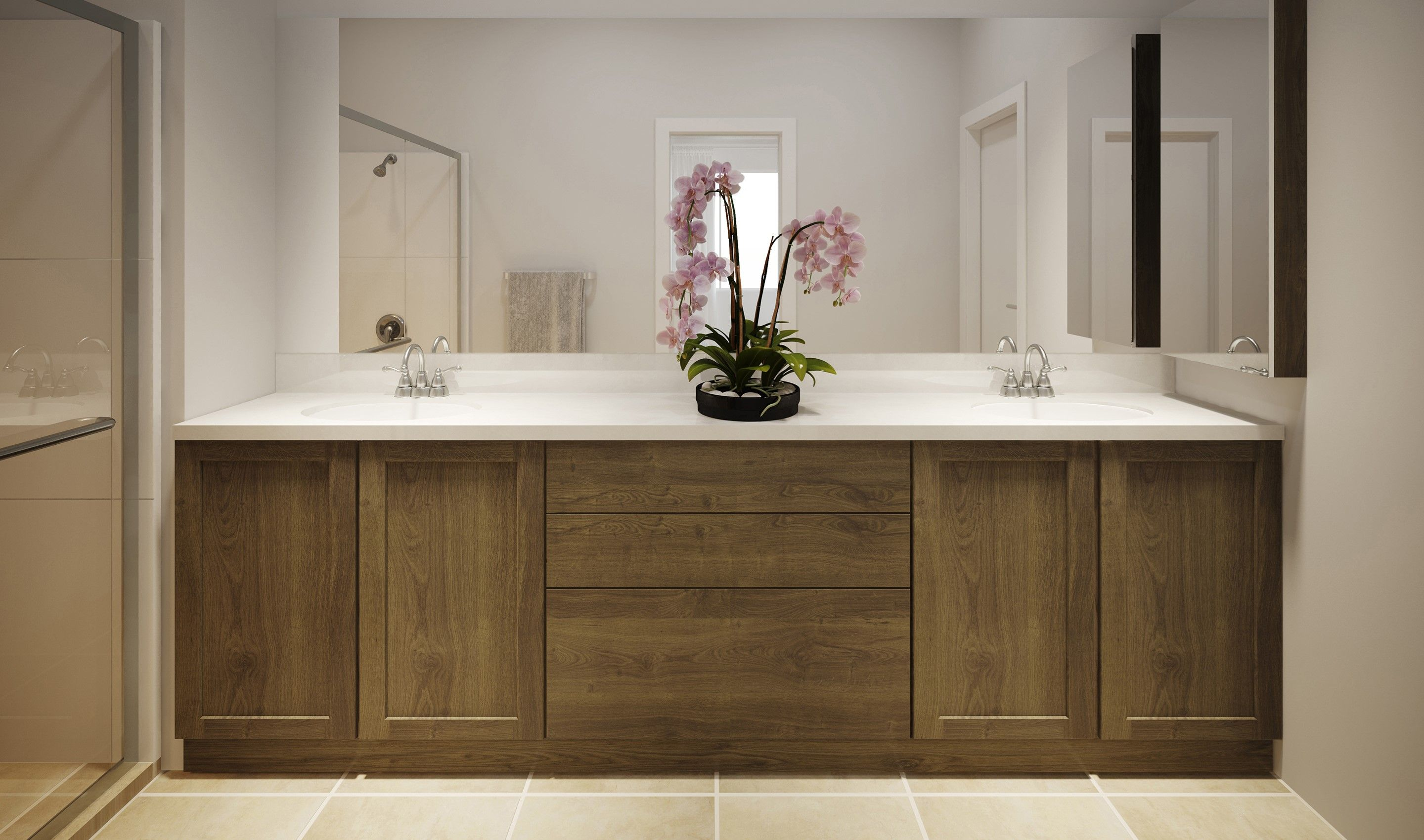 Bathroom featured in the Prelude By K. Hovnanian® Homes in Phoenix-Mesa, AZ