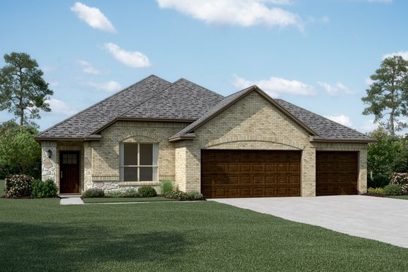 Exterior:Dover II - B3 - Optional stone