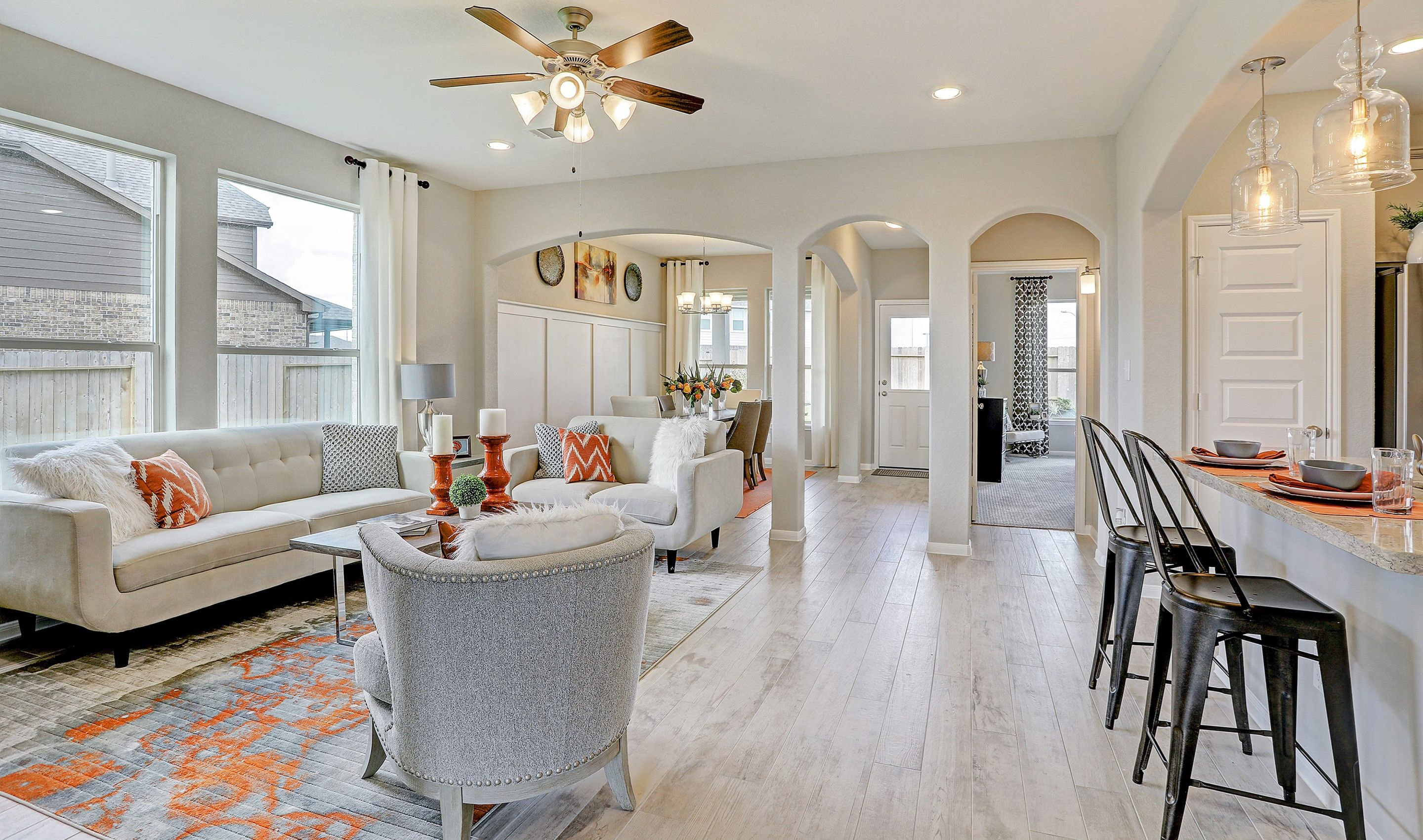 Living Area featured in the Hoover II By K. Hovnanian® Homes in Houston, TX