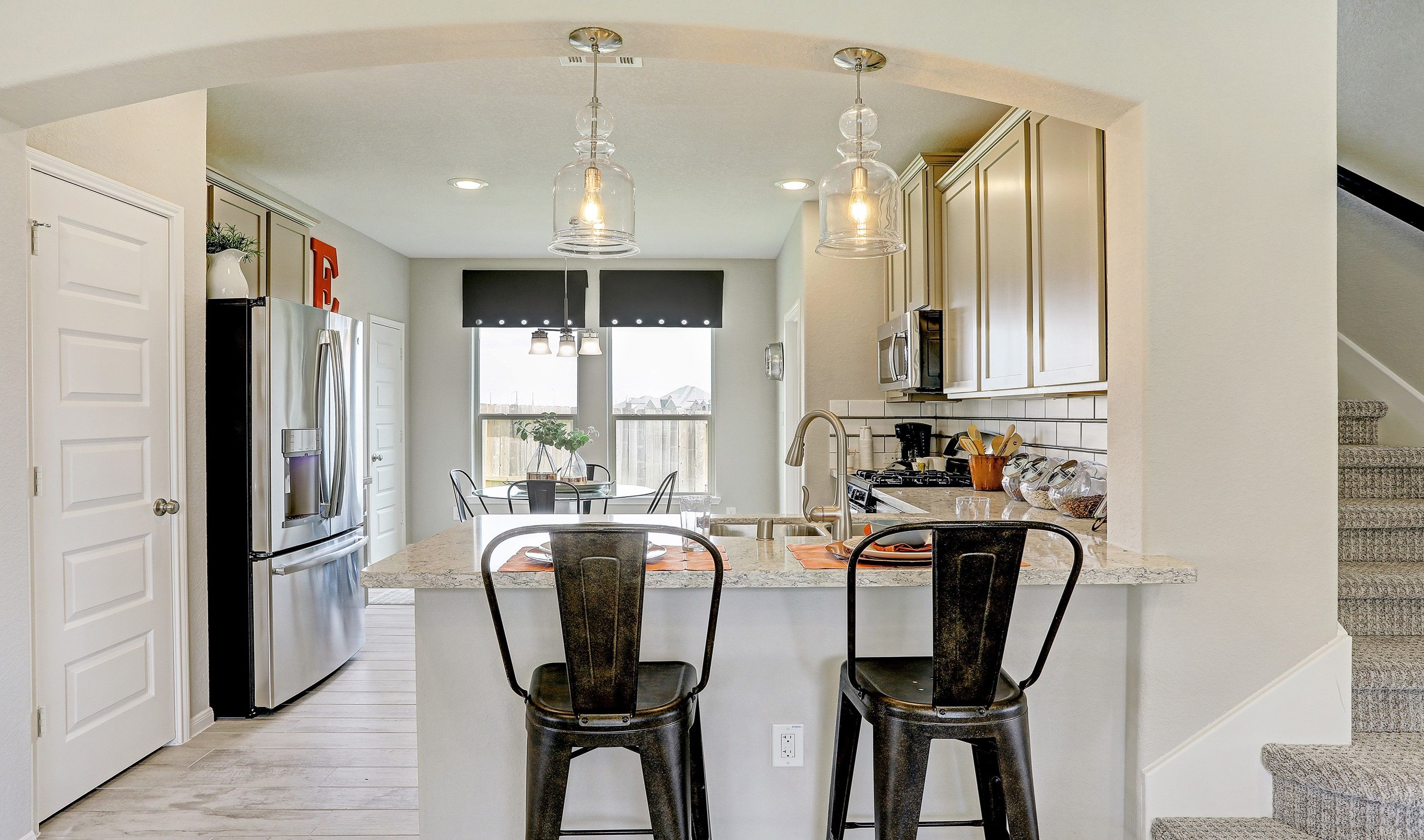 Kitchen-in-Hoover II-at-Lakes of Bella Terra West - 45' Homesites-in-Richmond