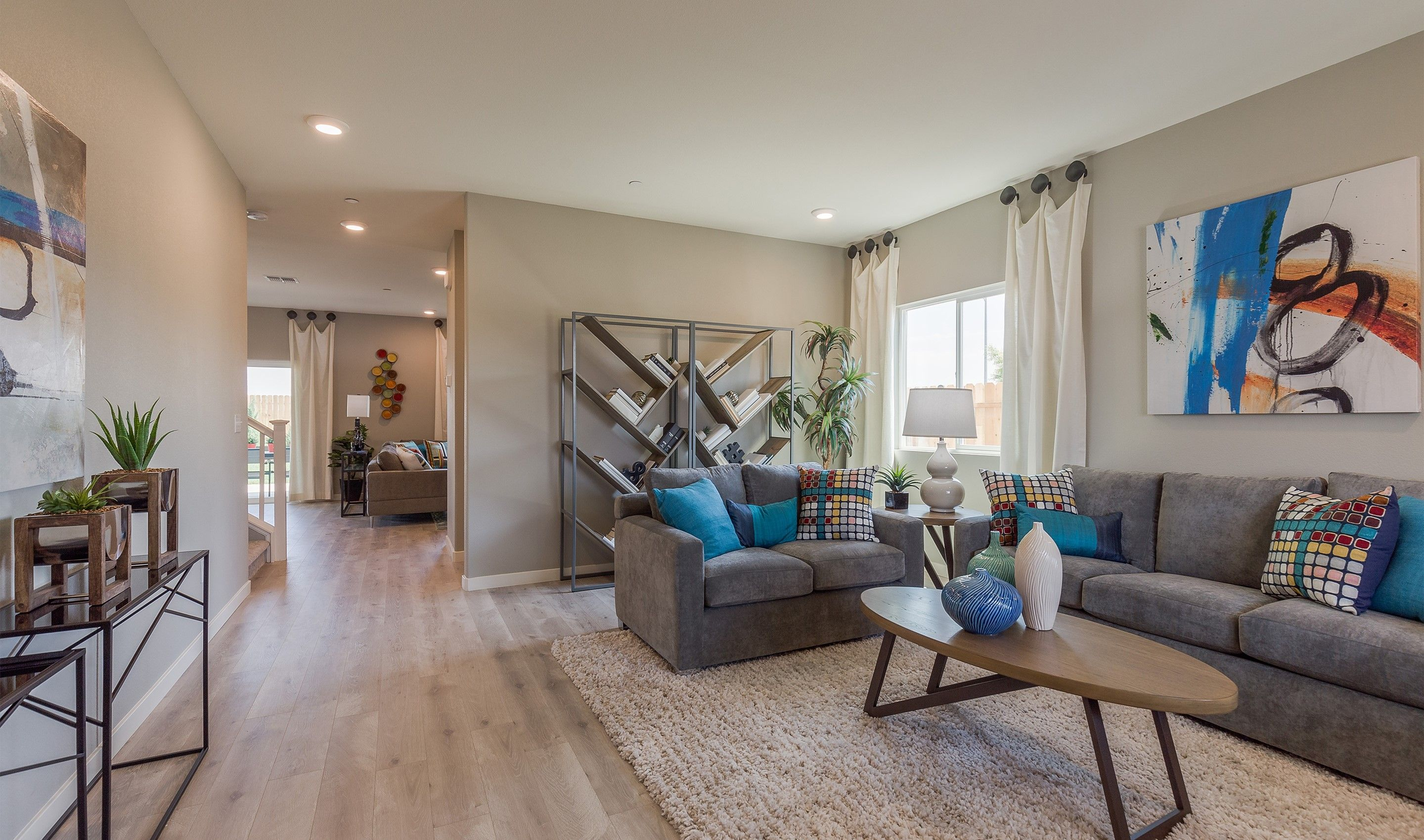 Living Area featured in the Primrose By K. Hovnanian® Homes in Merced, CA