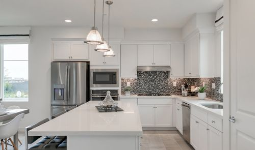 Kitchen-in-Pontiac-at-Deco at Cadence Park-in-Irvine