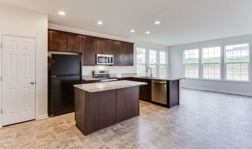 Kitchen-in-Olvera-at-Wellspring Hills-in-Fredericksburg