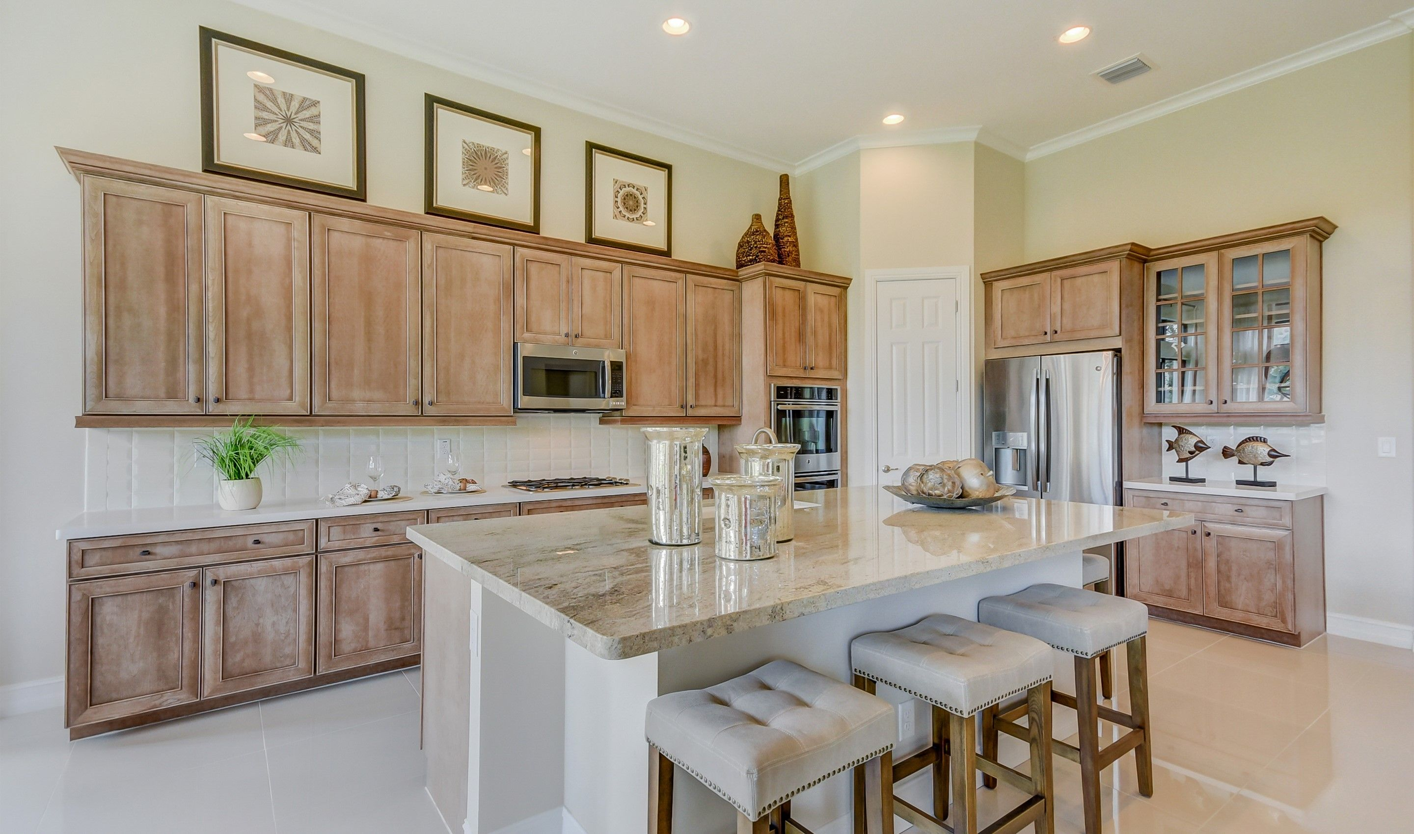 Kitchen featured in the Vera By K. Hovnanian's® Four Seasons in Broward County-Ft. Lauderdale, FL