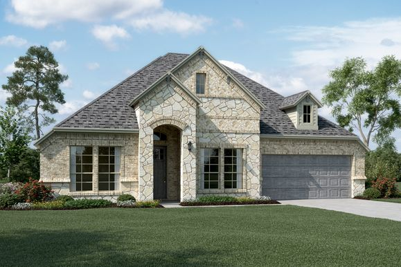 Exterior:Walden IV - C - Optional stone