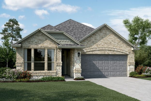 Exterior:Easton II - C - Optional stone
