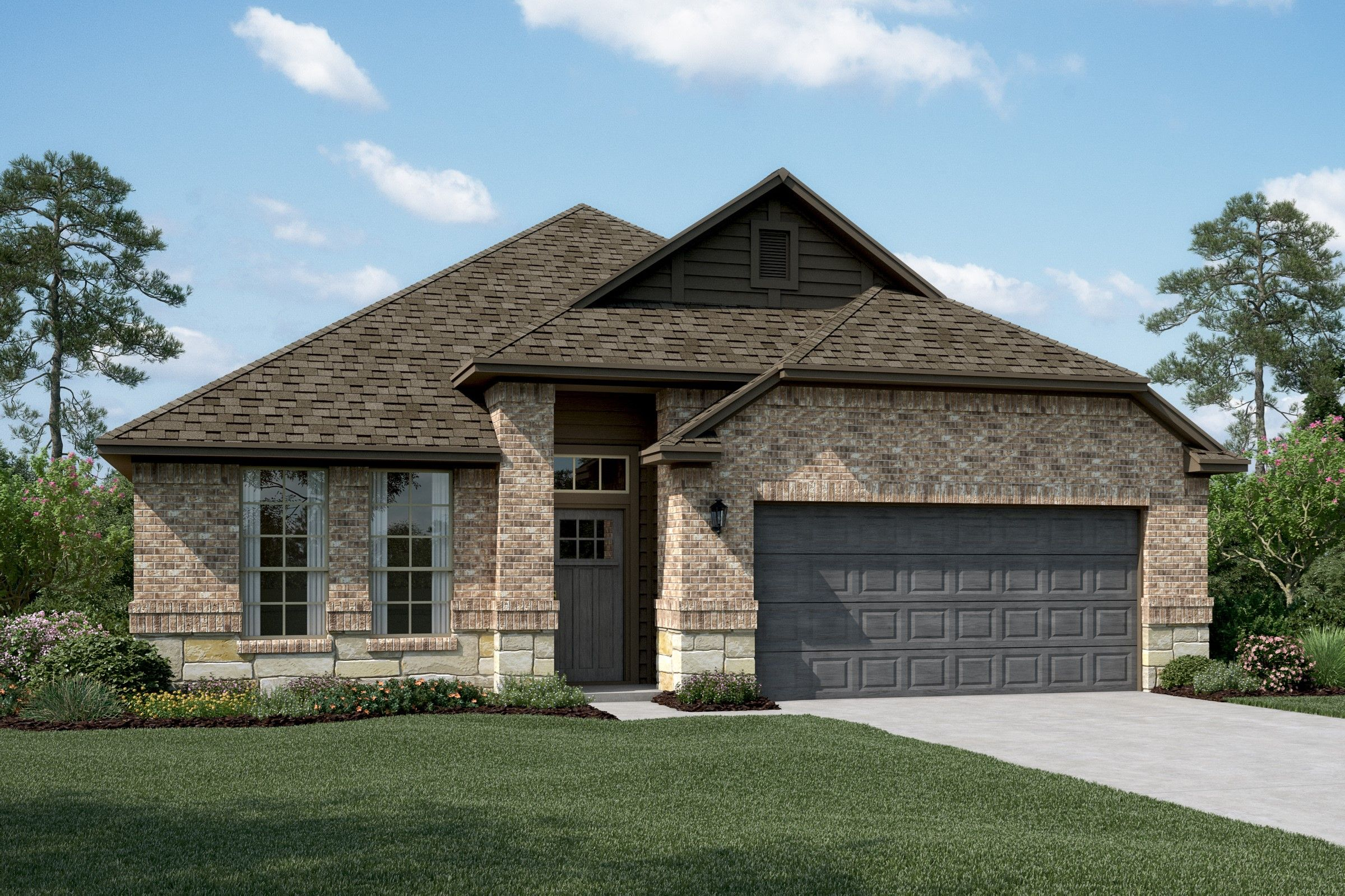 Exterior featured in the Birkdale By K. Hovnanian® Homes in Sherman-Denison, TX