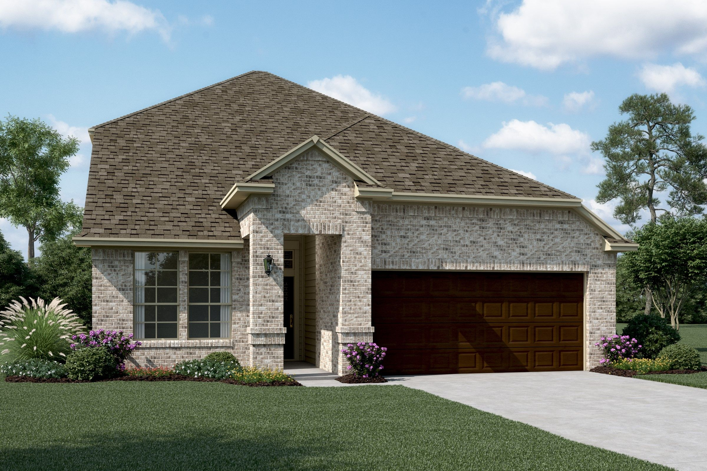 Exterior featured in the Waverly By K. Hovnanian® Homes in Sherman-Denison, TX
