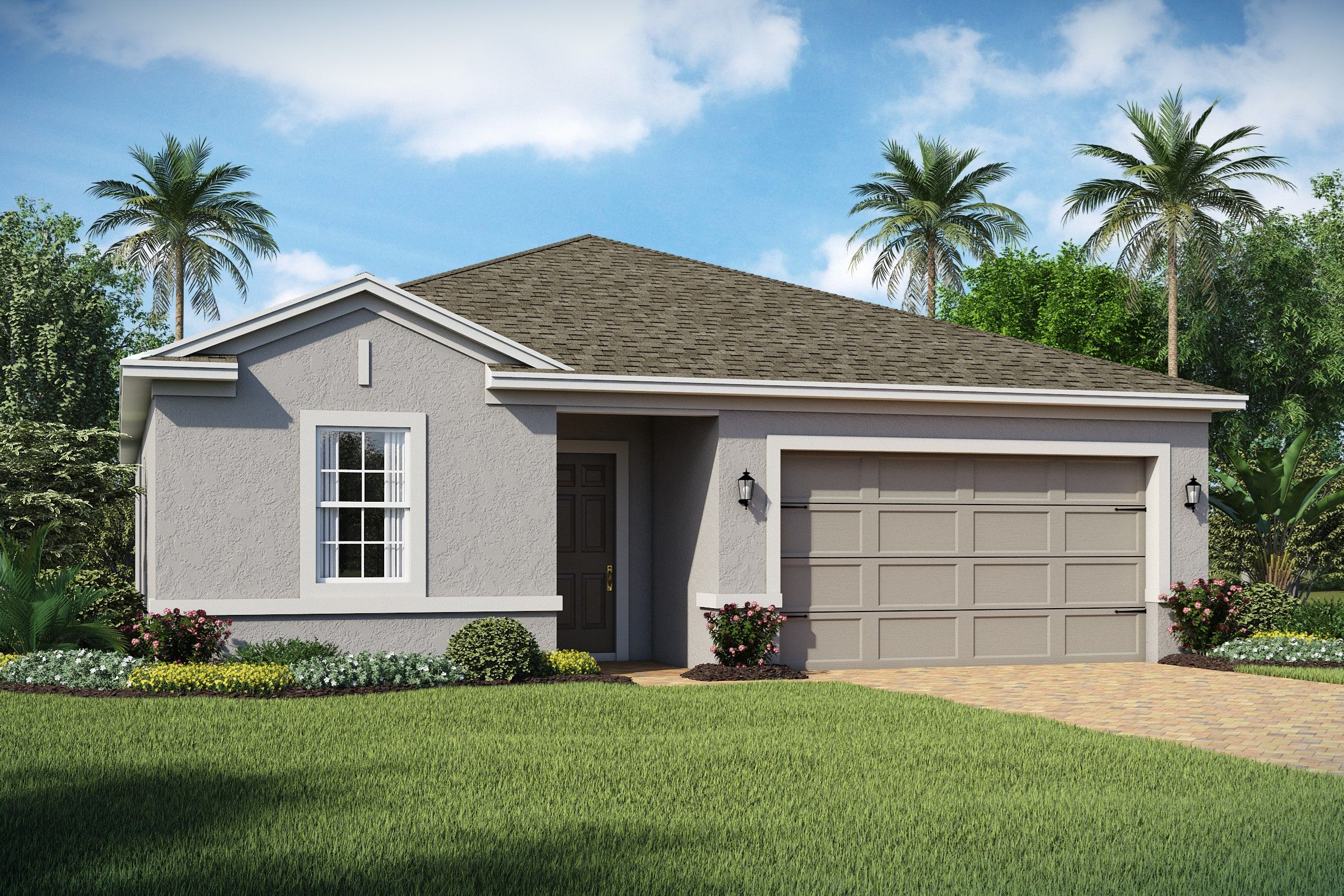Exterior featured in the Saint Lucia By K. Hovnanian® Homes in Orlando, FL