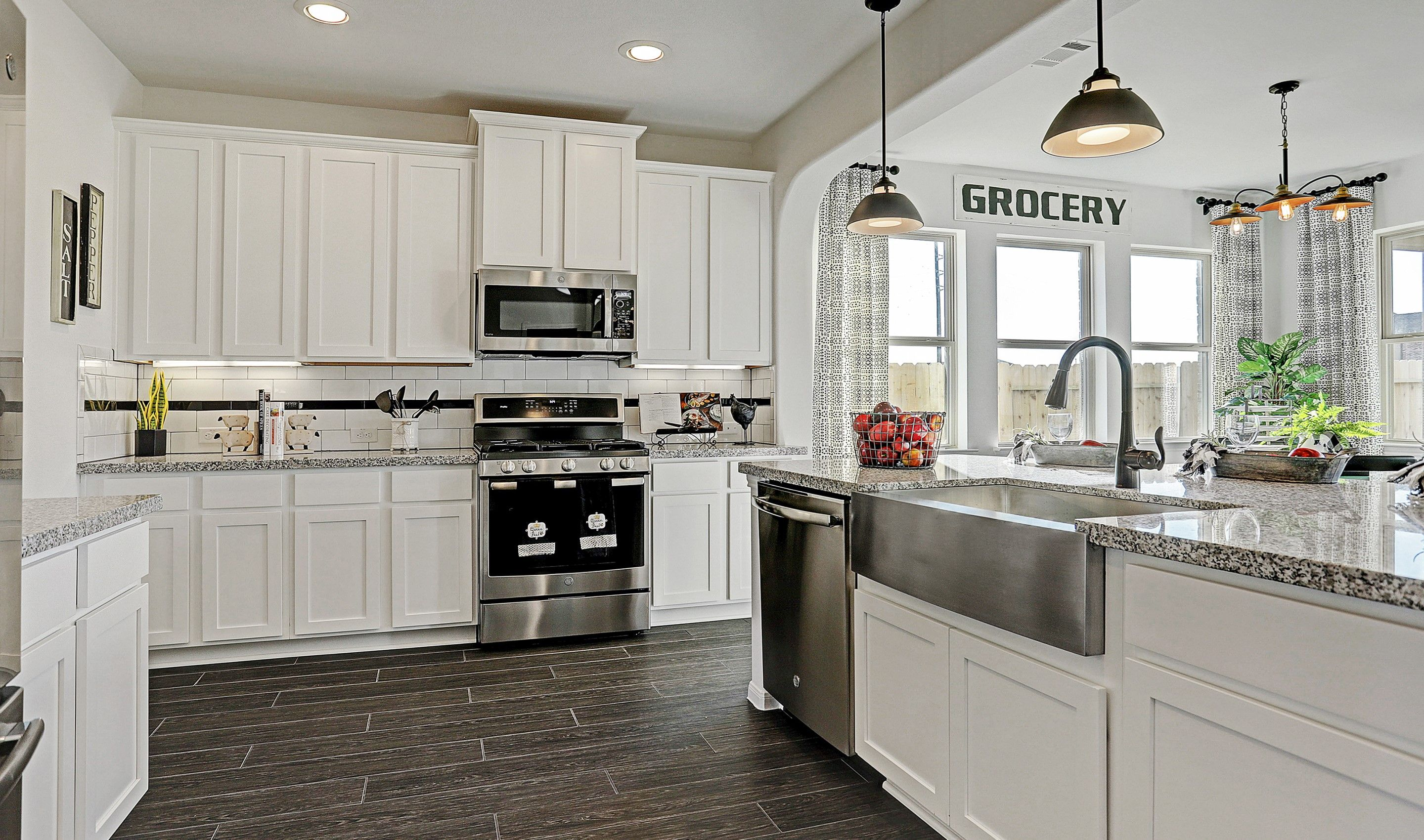 Kitchen featured in the Sawyer II By K. Hovnanian® Homes in Brazoria, TX