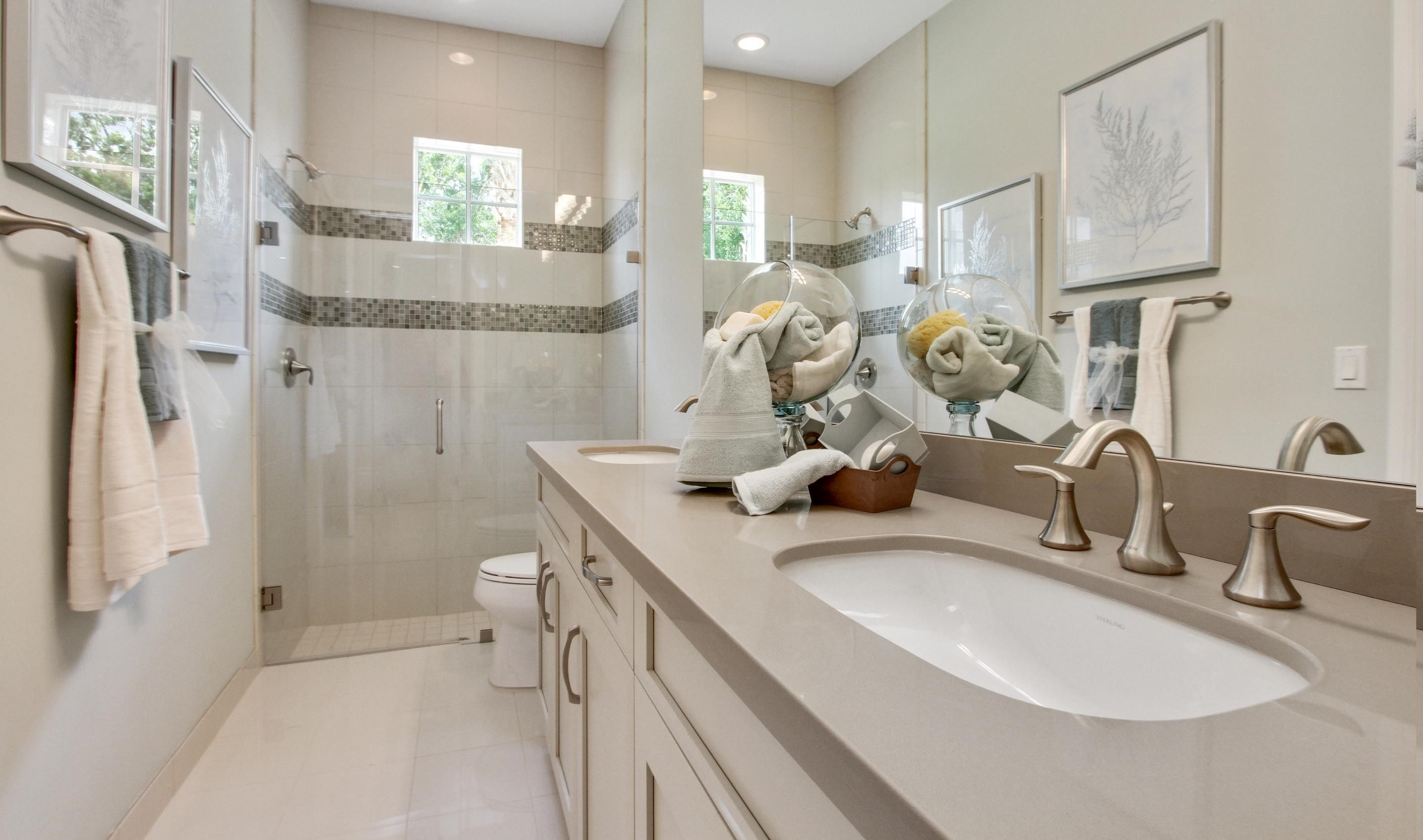 Bathroom featured in the Hawthorne By K. Hovnanian® Homes in Palm Beach County, FL
