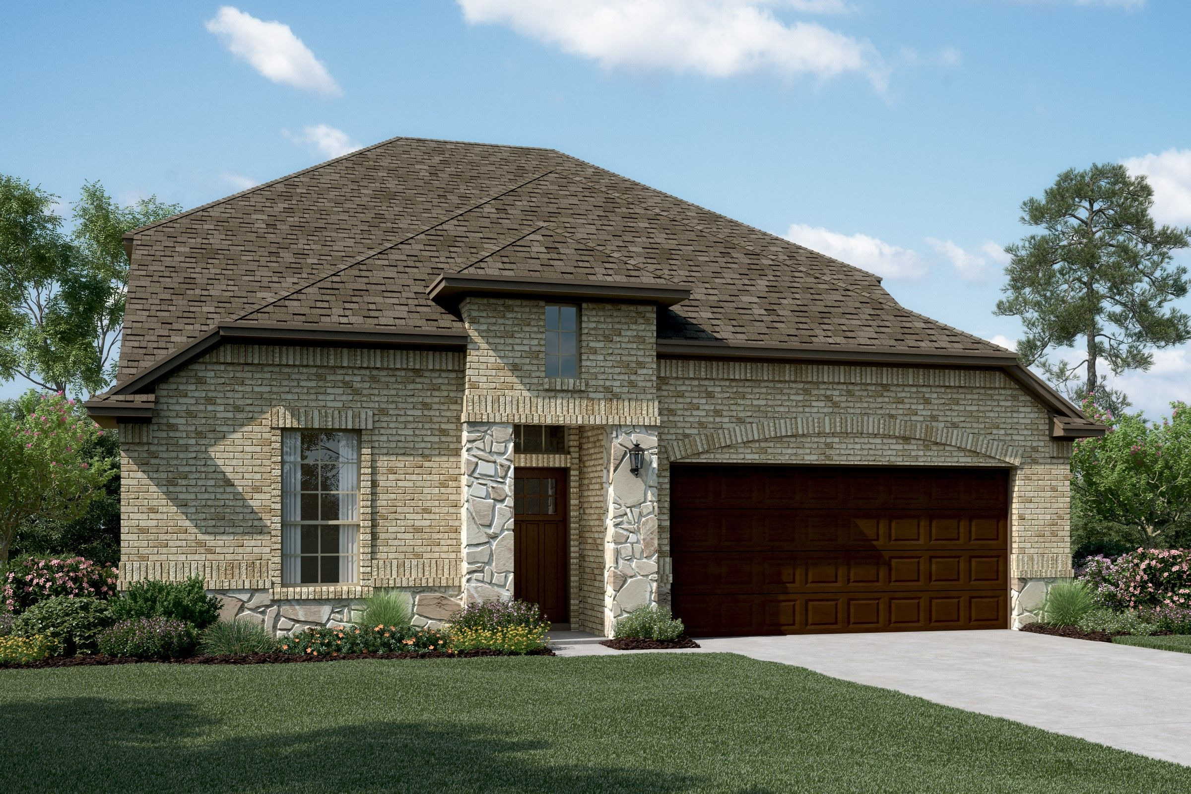 Exterior featured in the Calloway II By K. Hovnanian® Homes in Dallas, TX