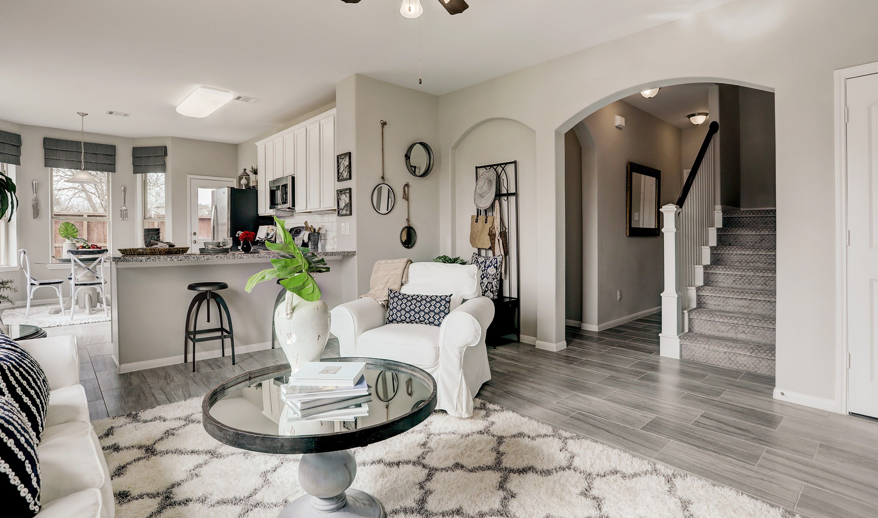 Living Area featured in the Palmer II By K. Hovnanian® Homes in Houston, TX