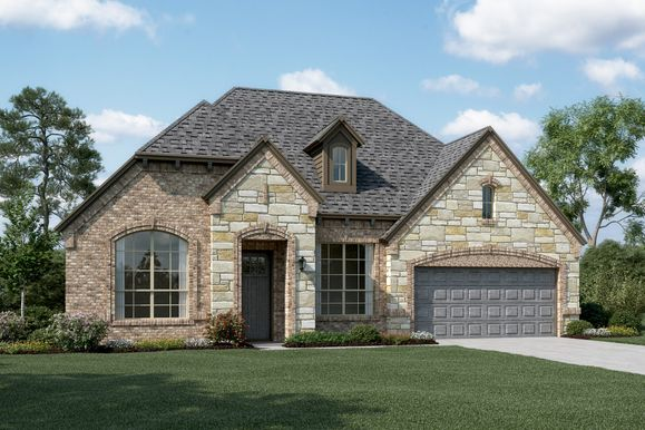 Exterior:Danbury V - E - Optional stone