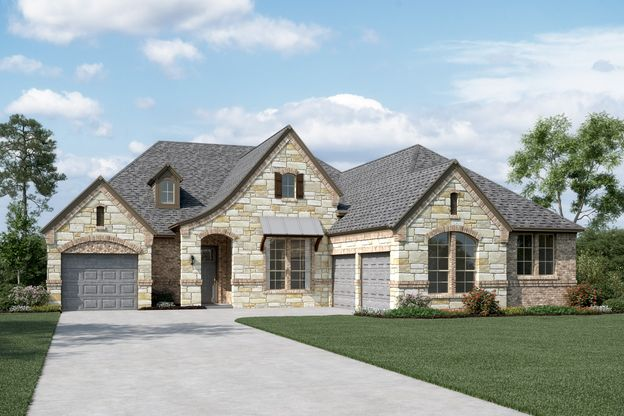 Exterior:Williamson II - L - Optional stone